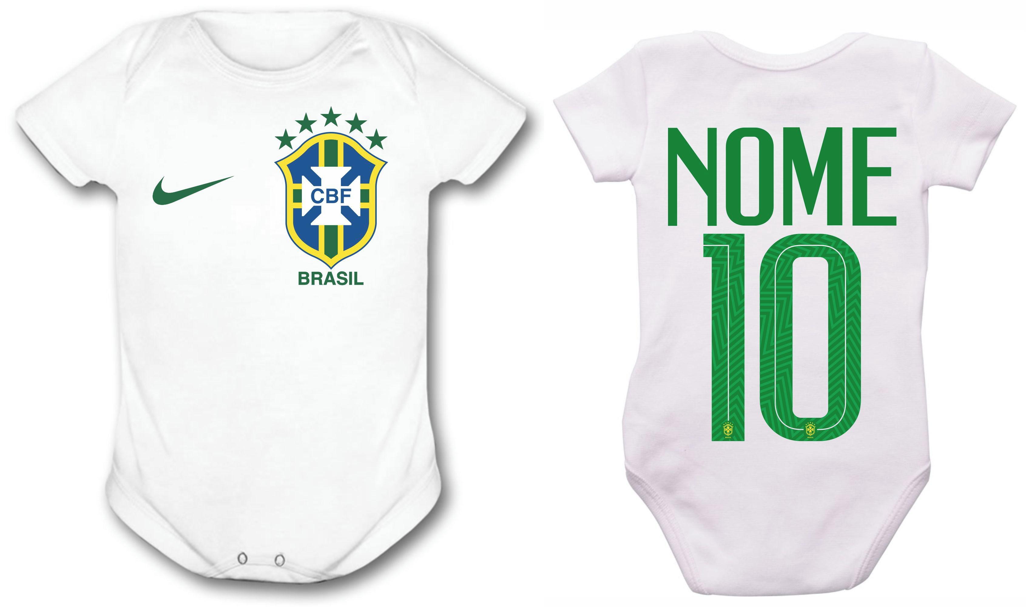 6ba50b5b36 Body Bebe Futebol Brasil de Pelotas