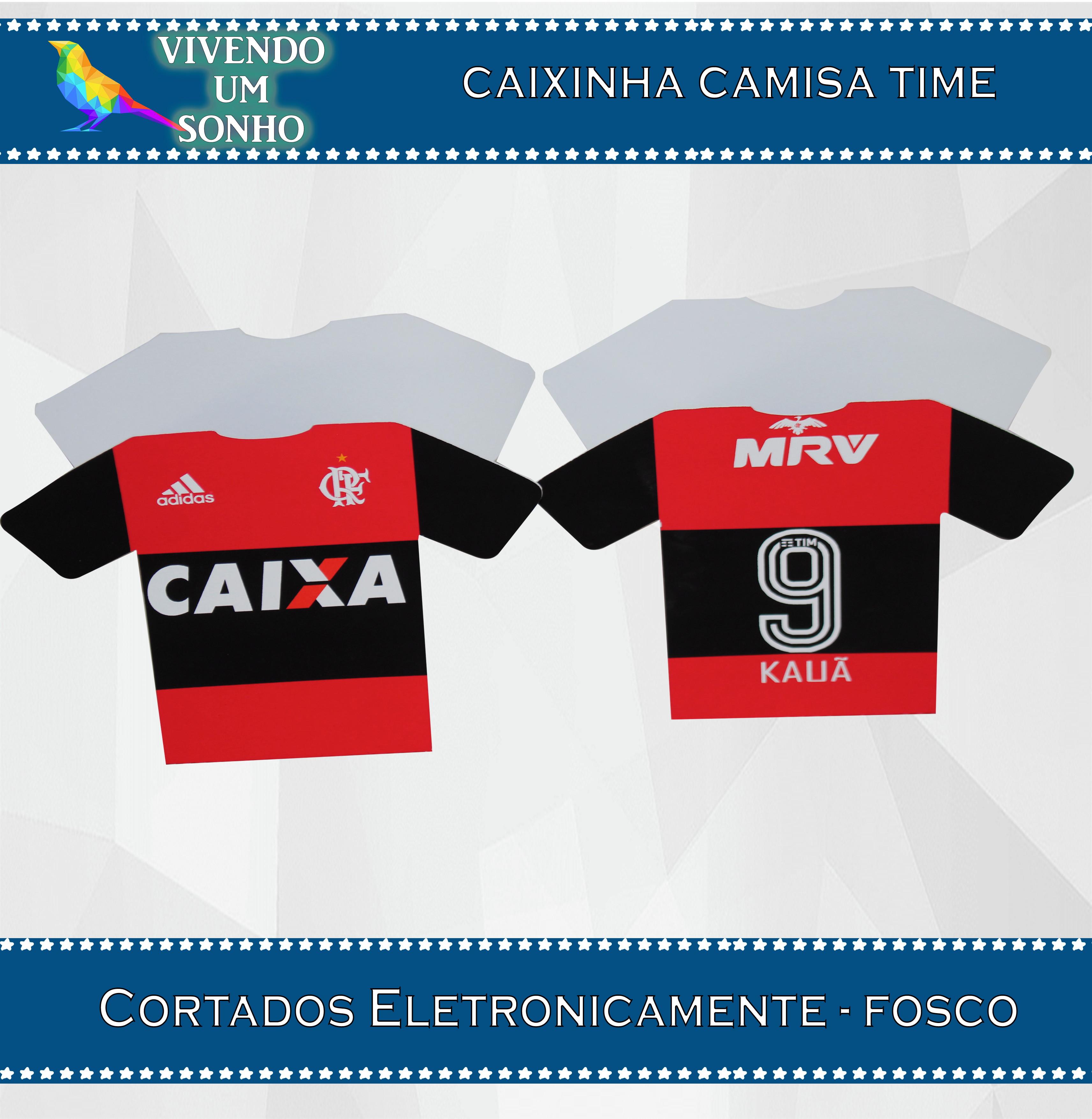 Caixinha Camisa Futebol  6b085d8273e55