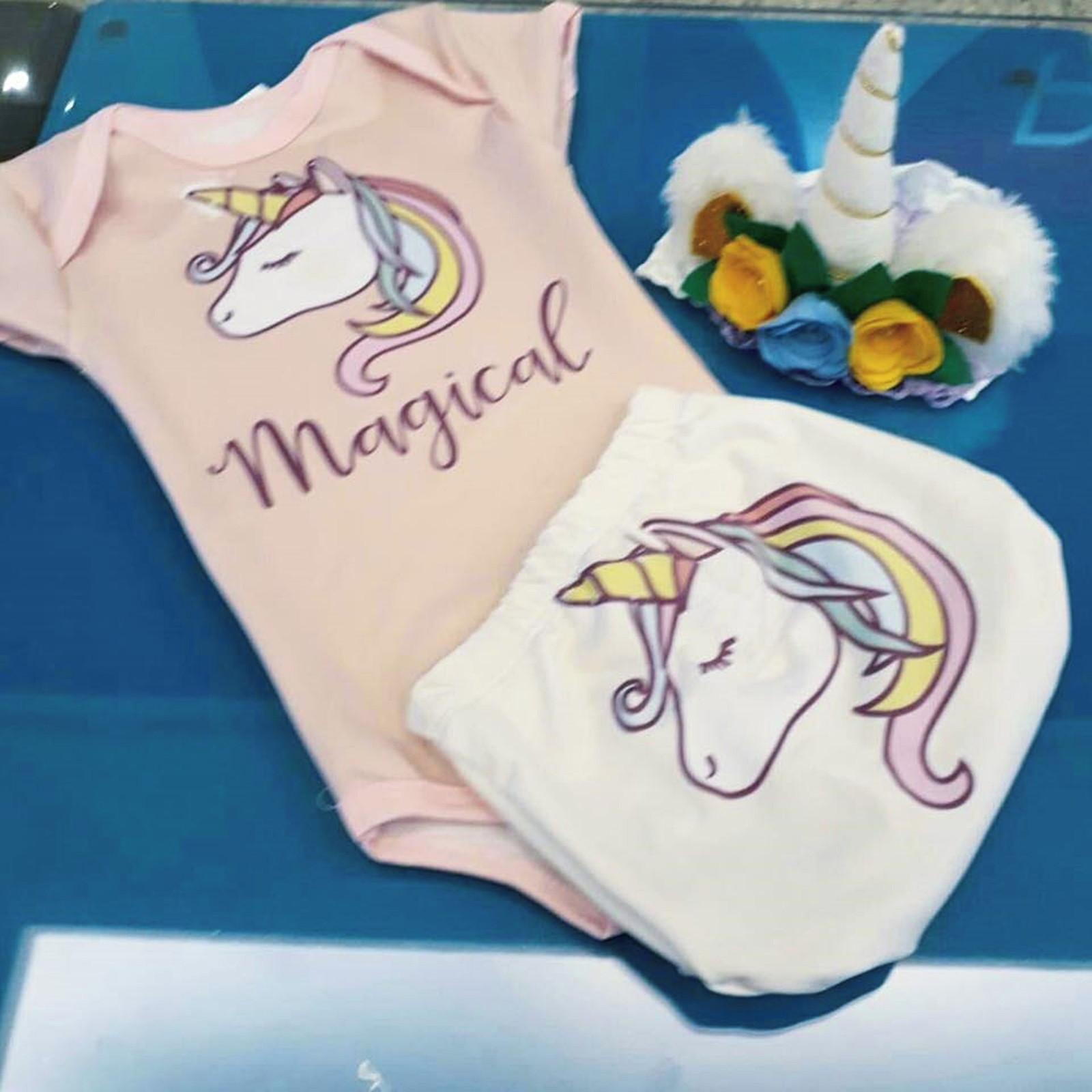 Body + Tapa Fralda Com Proteção Uv 50+ Unicornio Tam M 3-6 m no Elo7   Shop  Charme - Moda baby, kids, teen e adulto (CB637E) 1a2df1d5da