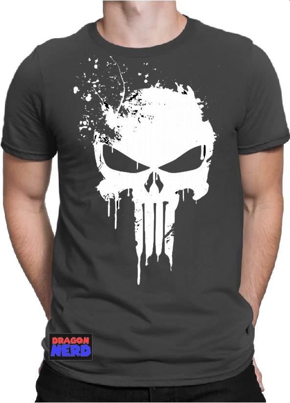 68b236369 Camiseta o Justiceiro Camisa The Punisher Series Seriados
