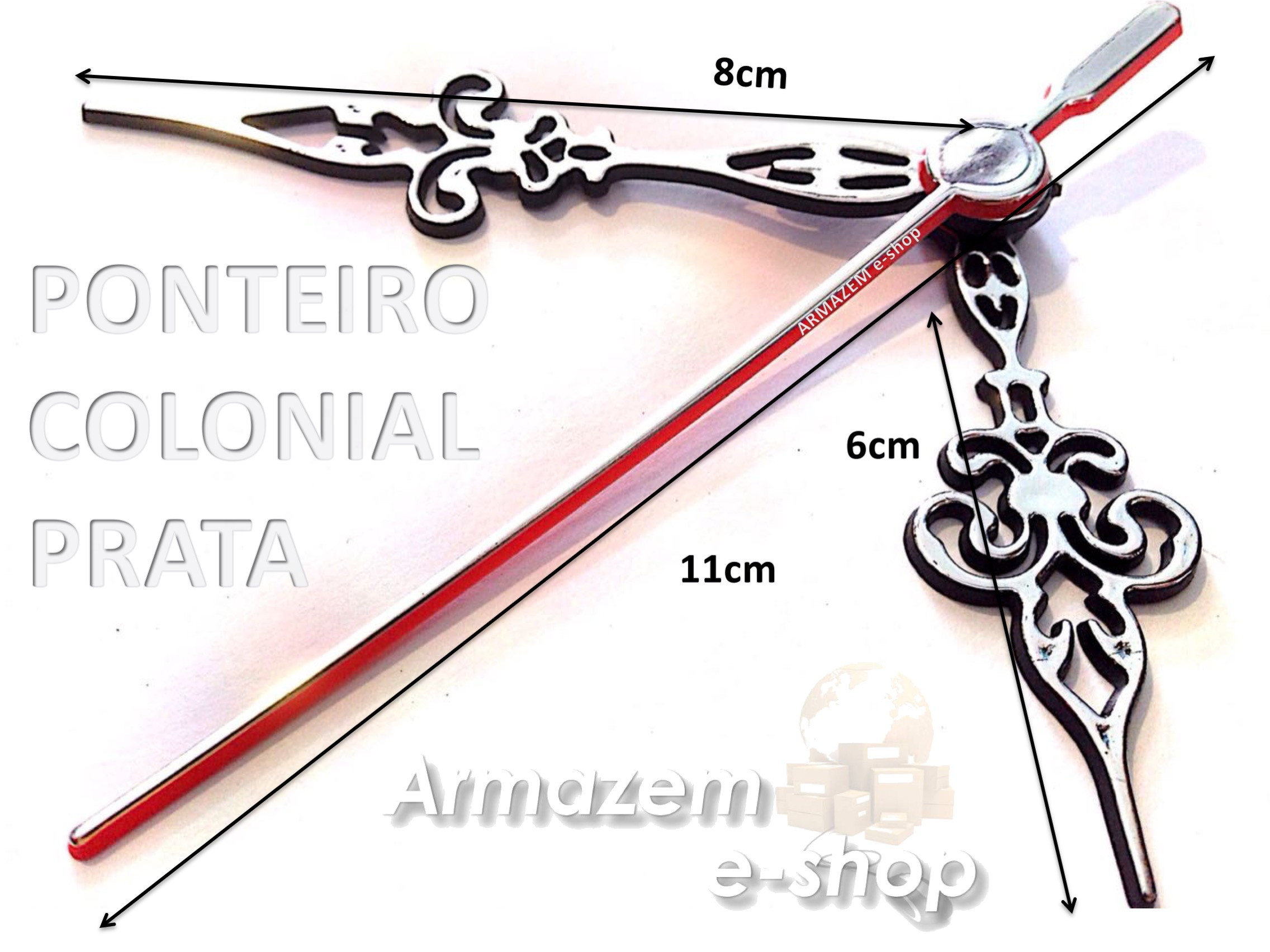 5591d13fcc3 Maquina Relógio Quartz CONTINUO Com Eixo 13mm Armazem E-shop no Elo7 ...