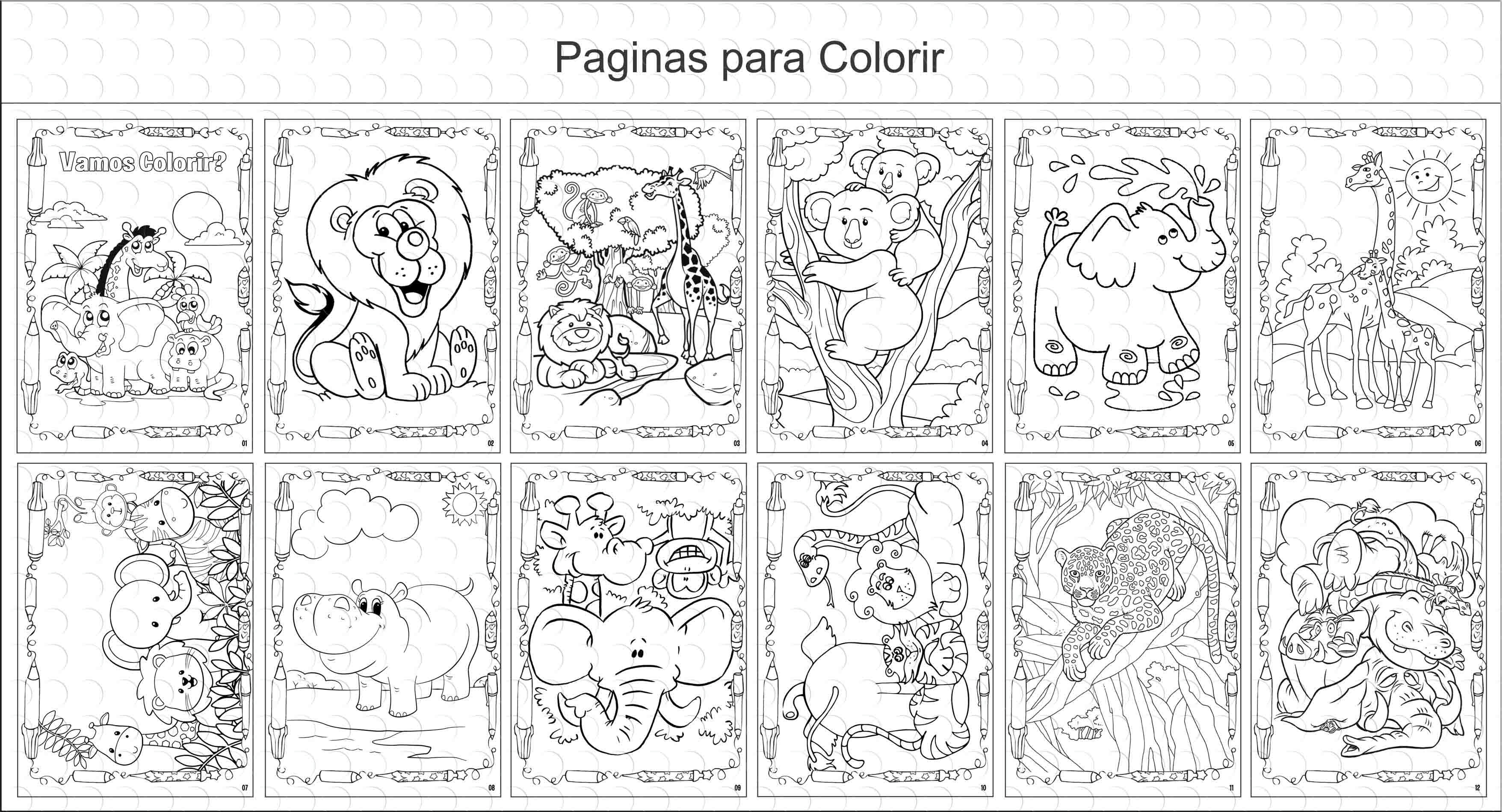 Livros De Colorir 10x15 Safari No Elo7 G A Personalize Cb72a3
