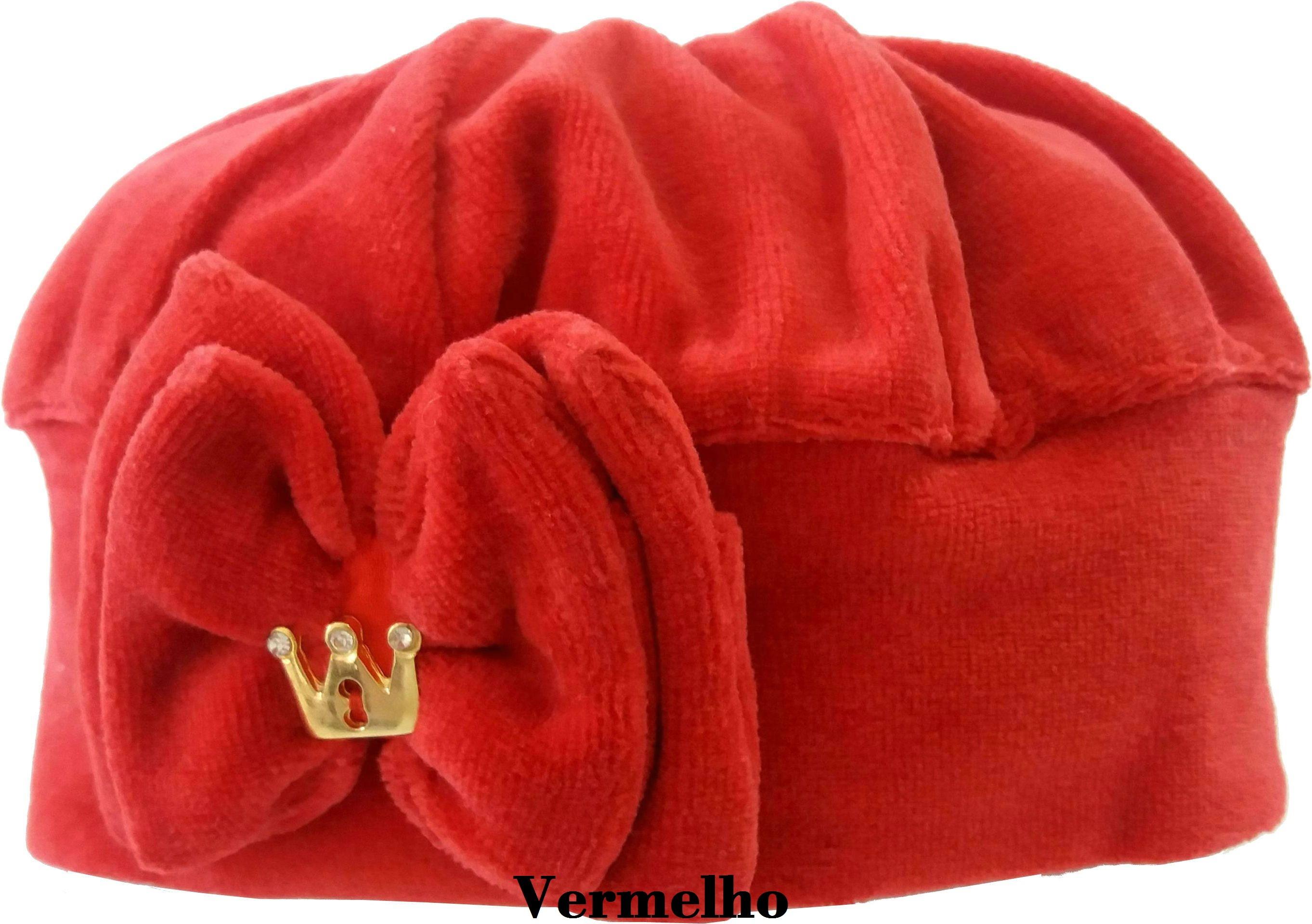 Boina Francesa Vermelha com Laco  01724175a11