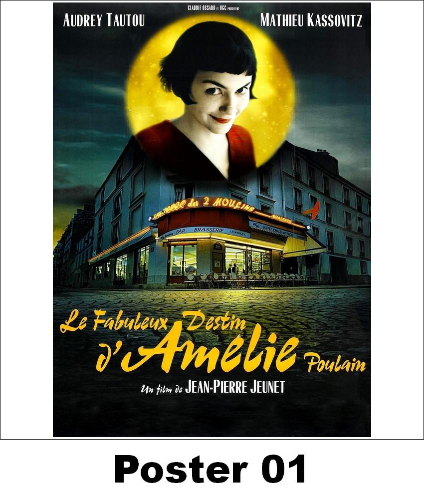 Almofada 30x30 Amelie Poulain Elo7