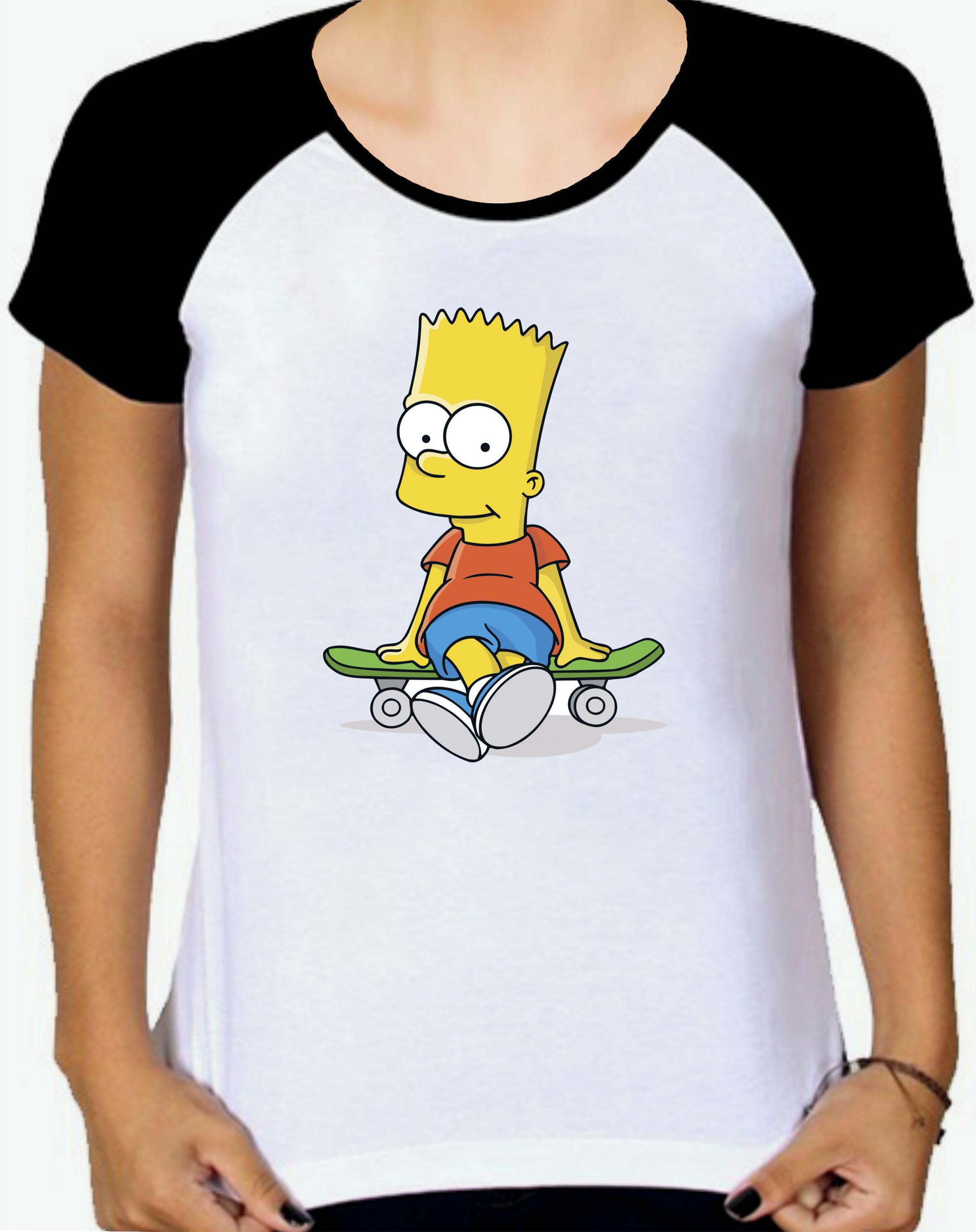 46d5739f7 Camiseta Raglan Personalizada Homer Simpson