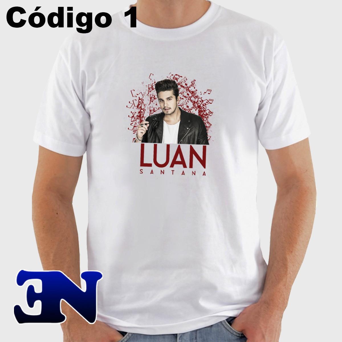 9bcb4a8a9e Camiseta Luan Santana - 2050 - Sertanejo no Elo7