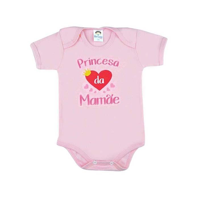 Body Infantil Manga Curta Louquinha Pela Mamae  54583e1f0d0