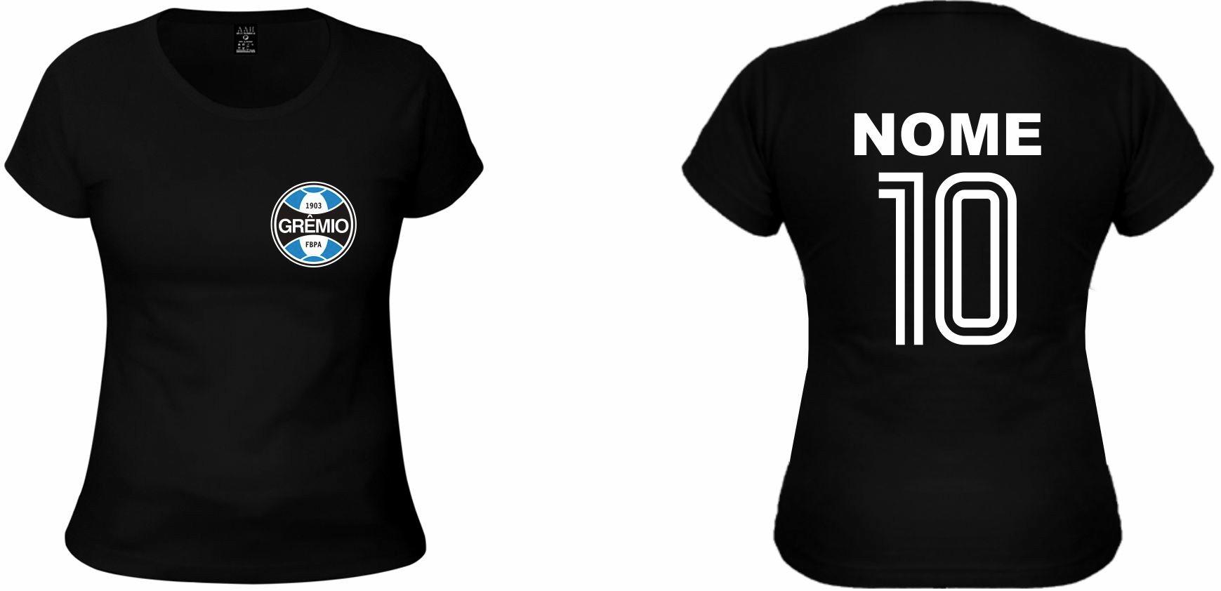 Camiseta Personalizada do Grêmio  925b0fe4e4874