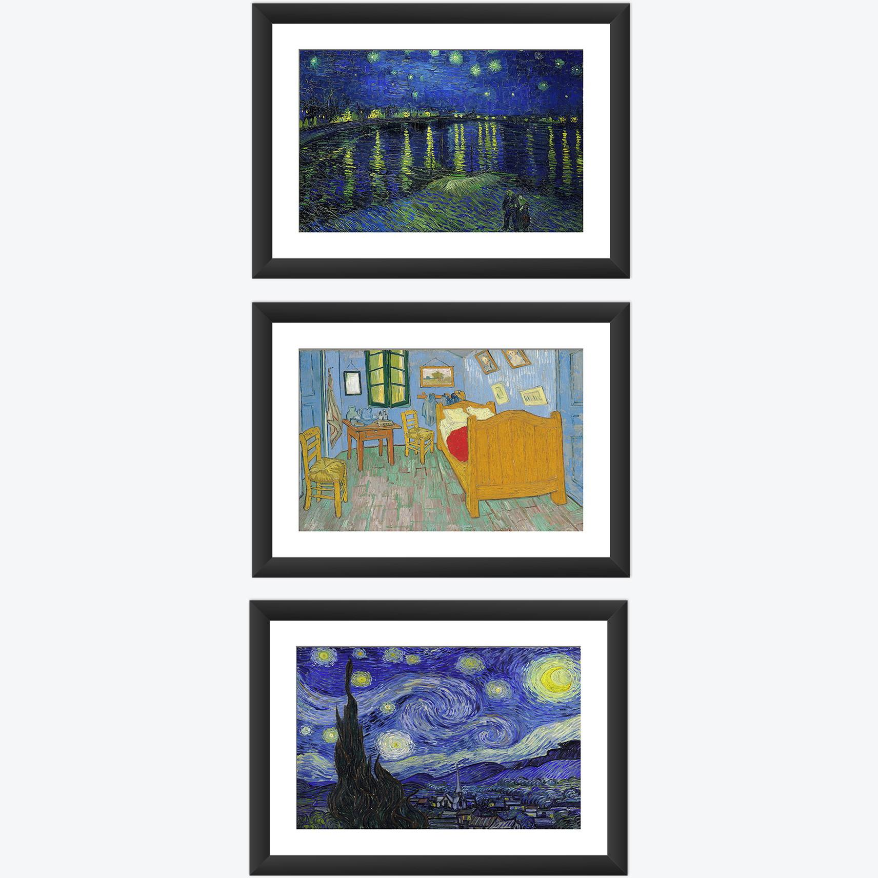 7bb3b555699 Quadro Auto Retrato Van Gogh