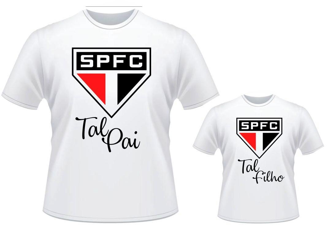 bd1757594 Kit Camisetas Tal Pai Tal Filho Time Futebol São Paulo no Elo7   Mundo dos  Personalizados - Brindes e Personalizados em Geral (CD4B42)