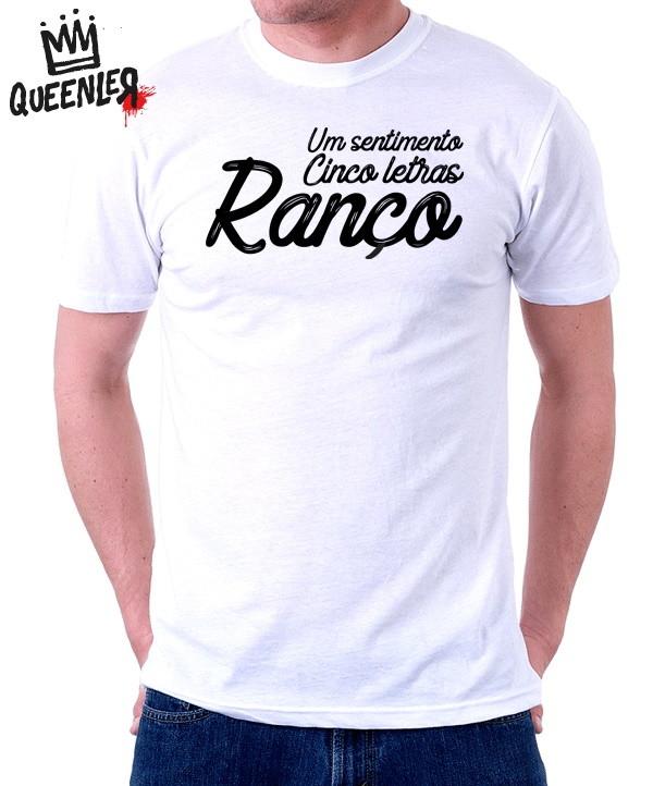 Camiseta Masculina Sentimento Ranço No Elo7 Mega Store Cda7cb