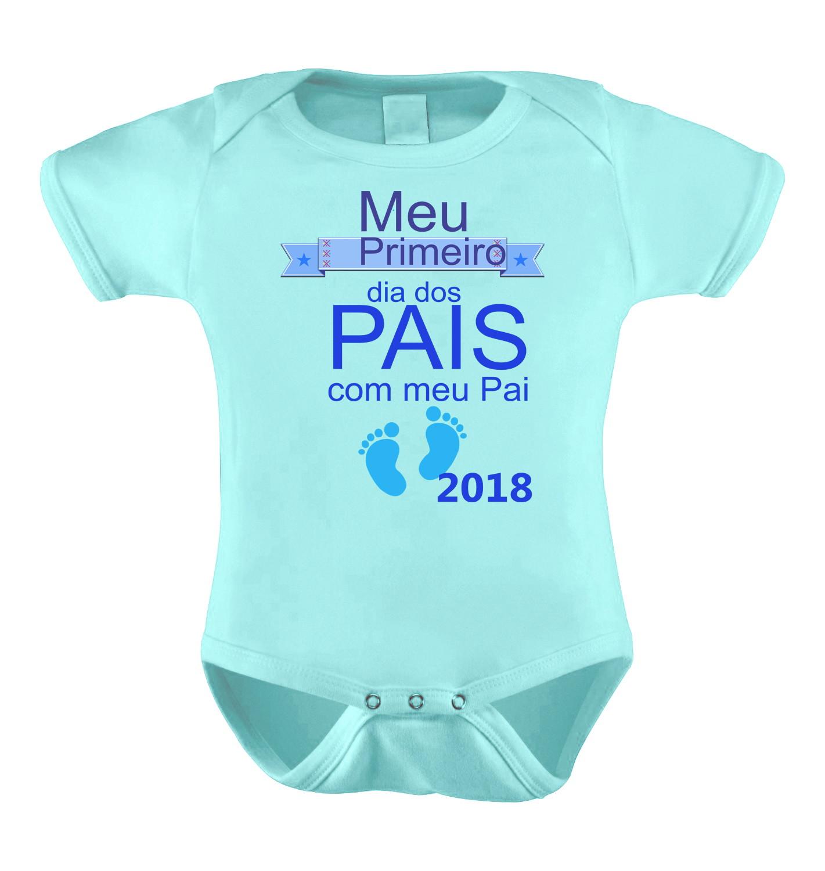 Body Bori Bebe Personalizado Primeiro Dia dos Pais Paizao  f4f57bc057bbd