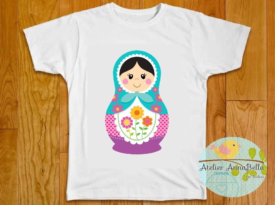 Camiseta Matrioska  5ce35a8c8719b