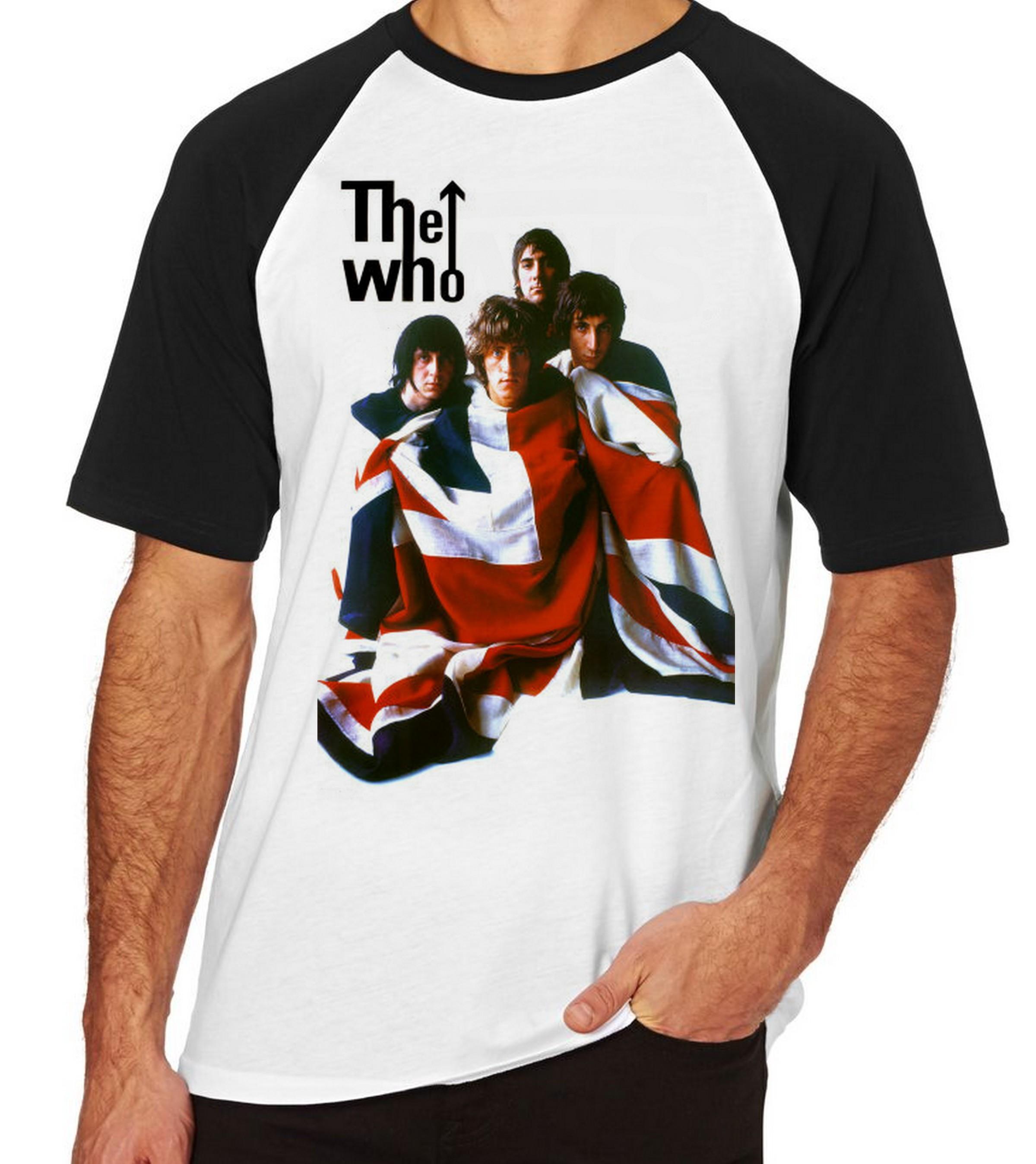 Camiseta Infantil Blusa Crianca The Who Banda Inglesa Rock  9498edee30e54