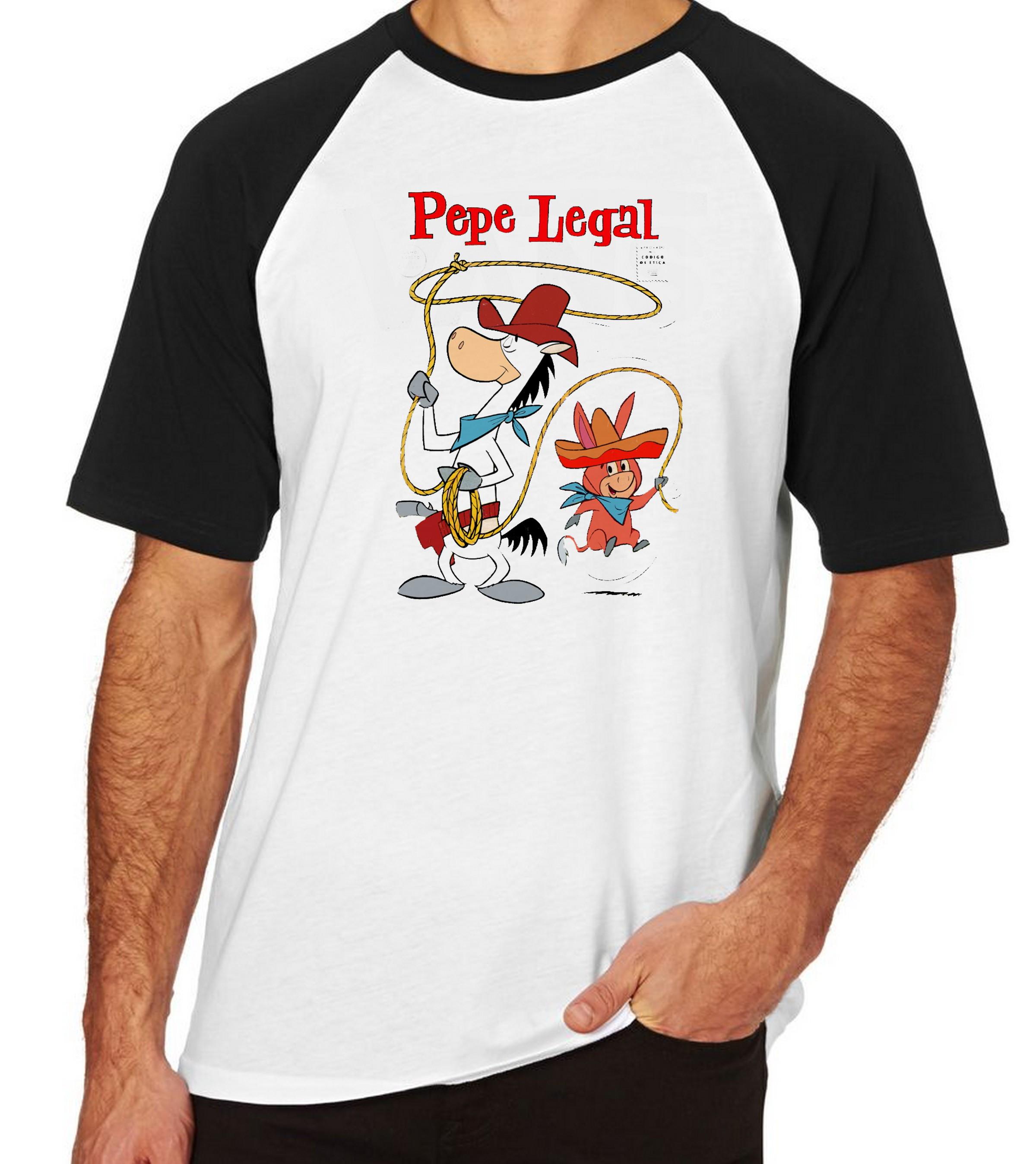 Camiseta Raglan Blusa Hanna Barbera Personagens Desenhos  735cdff57ae1f