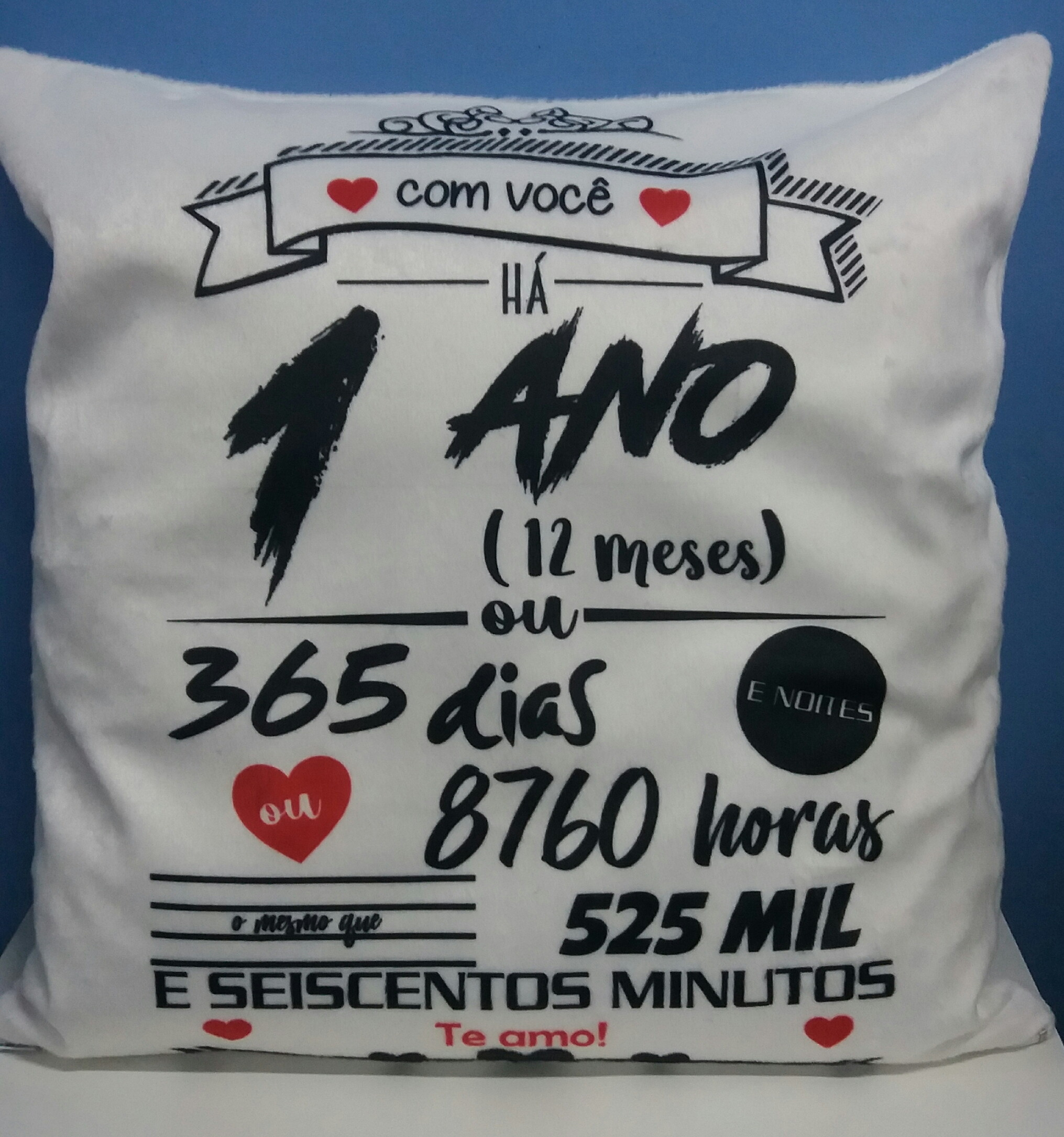 Presente 1 Ano De Namoro Elo7