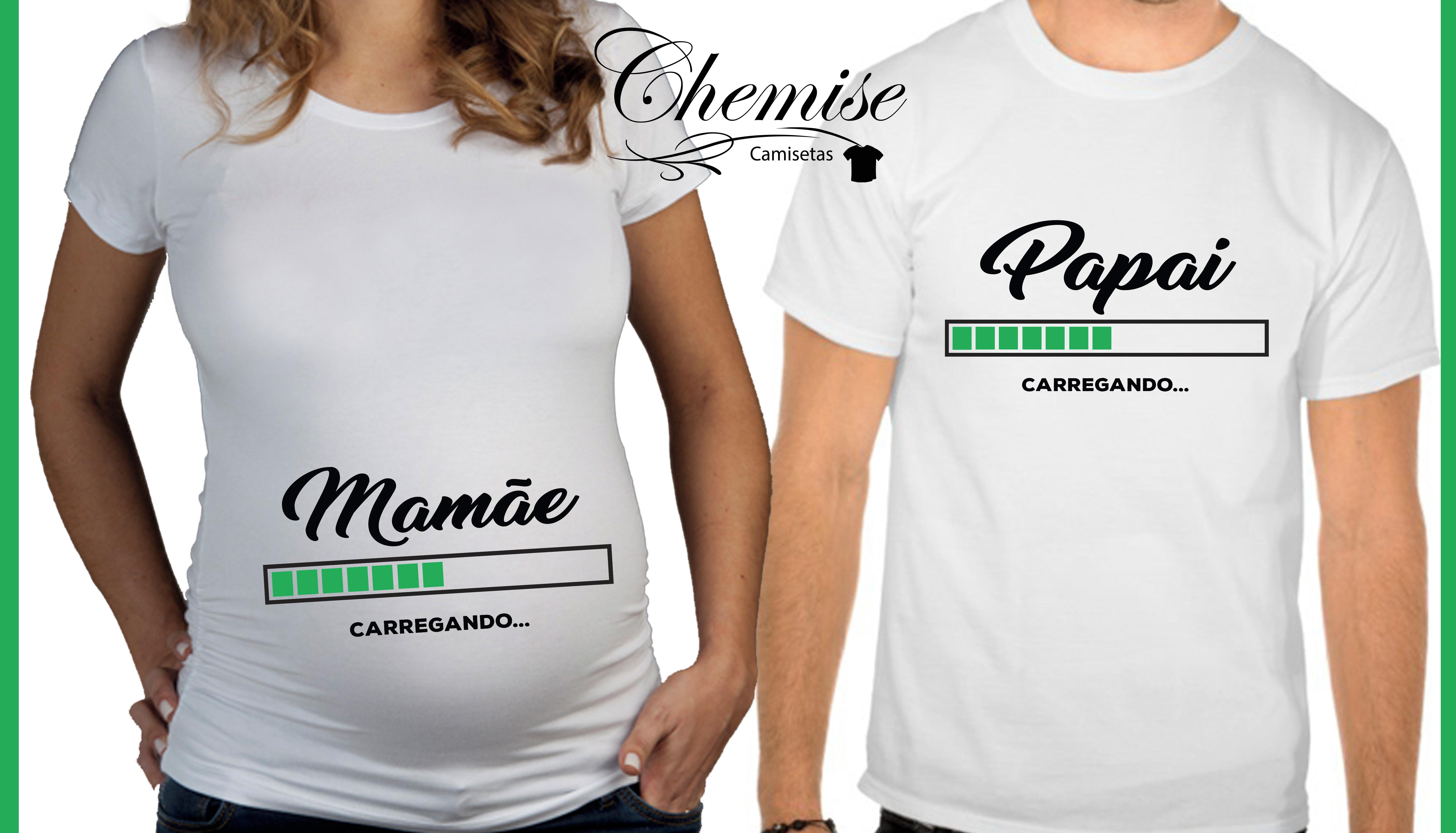 Camiseta Papai Gravido  22d76888e63e3