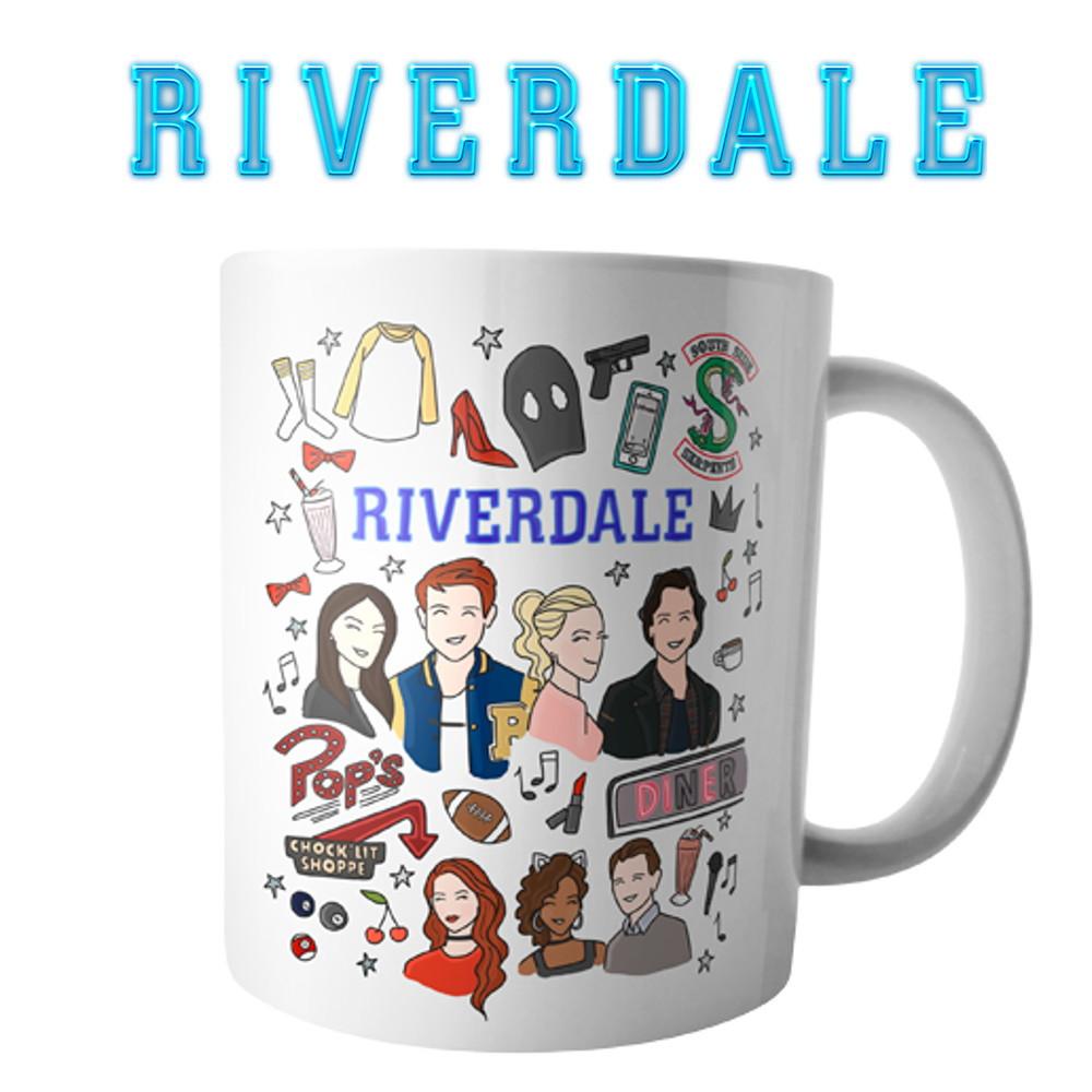 Caneca E Almofada Serie Riverdale Elo7