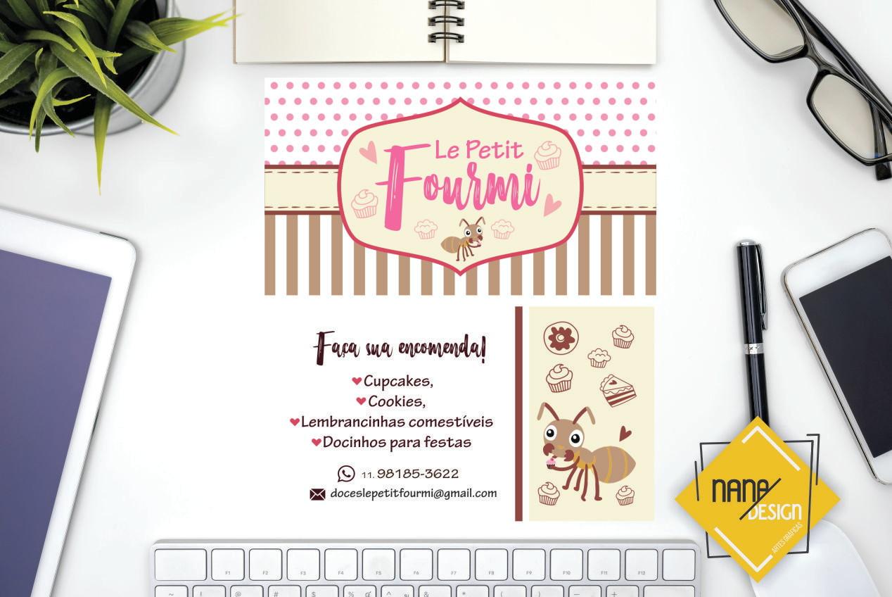 Kit Ident Visual Doces Bolos Cupcake 6 Itens No Elo7 Nana