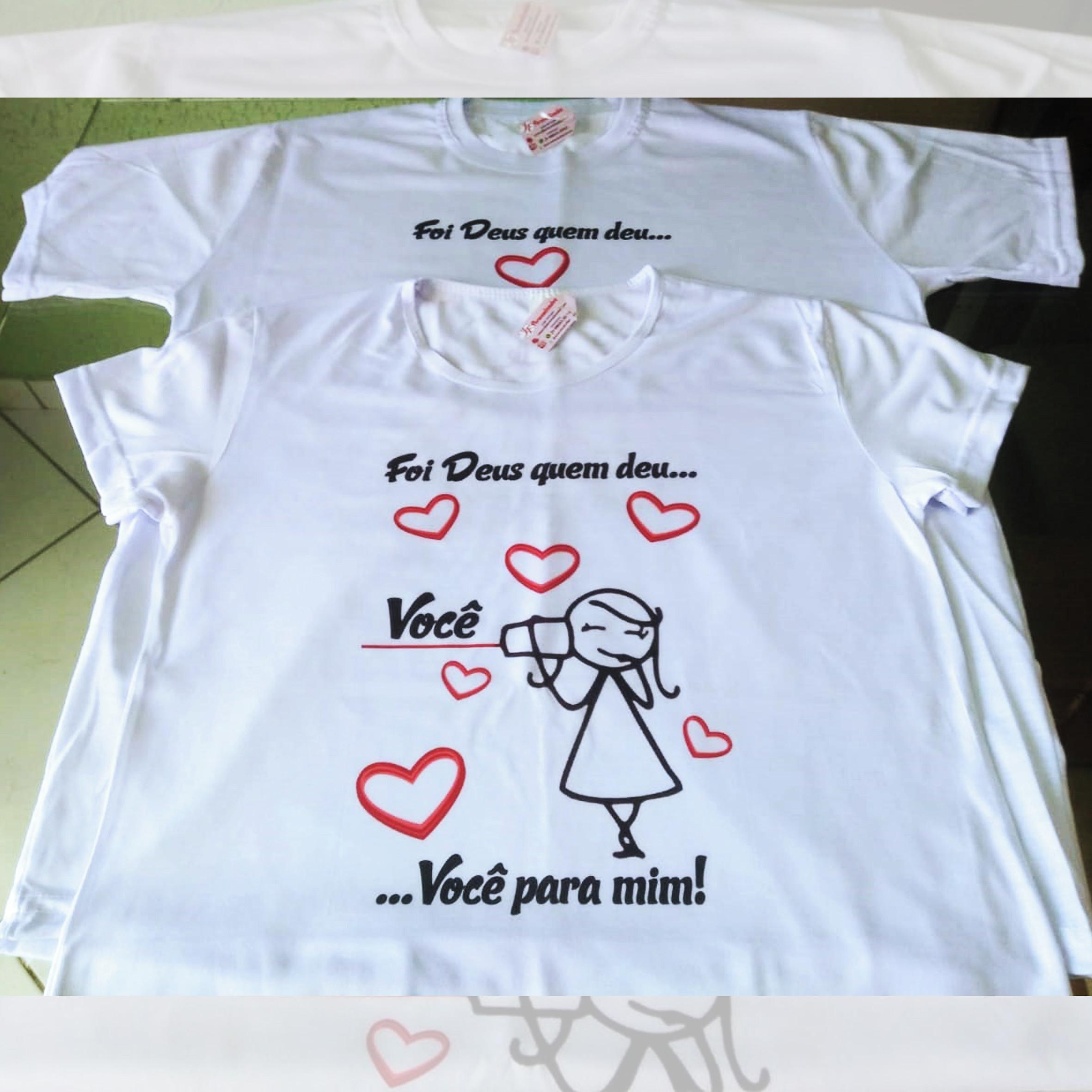 45d849a36 Camiseta Infantil Deus e Fiel