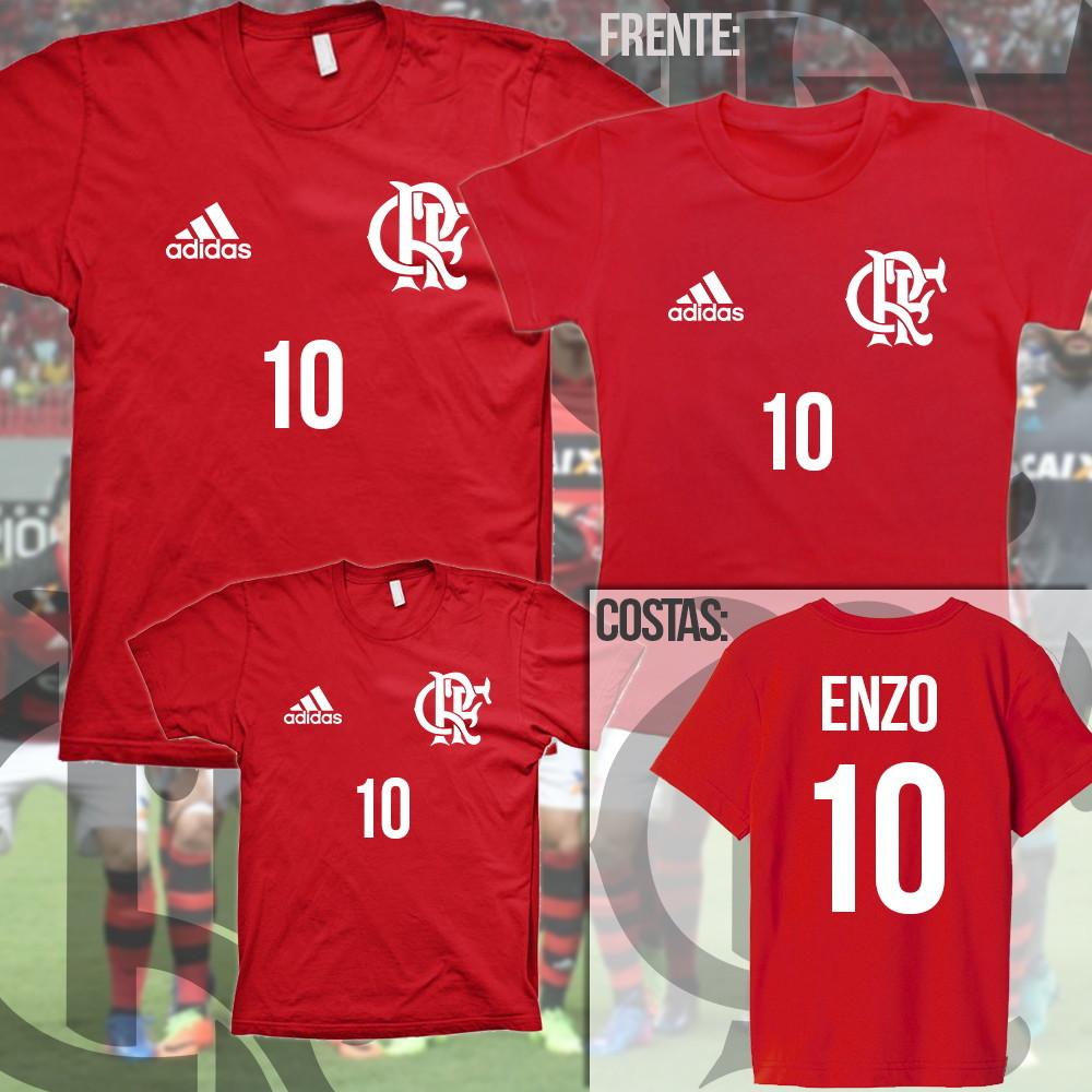 Camiseta Flamengo tal pai tal filho(a) frente e costa no Elo7 ... c4d5c48de98b8