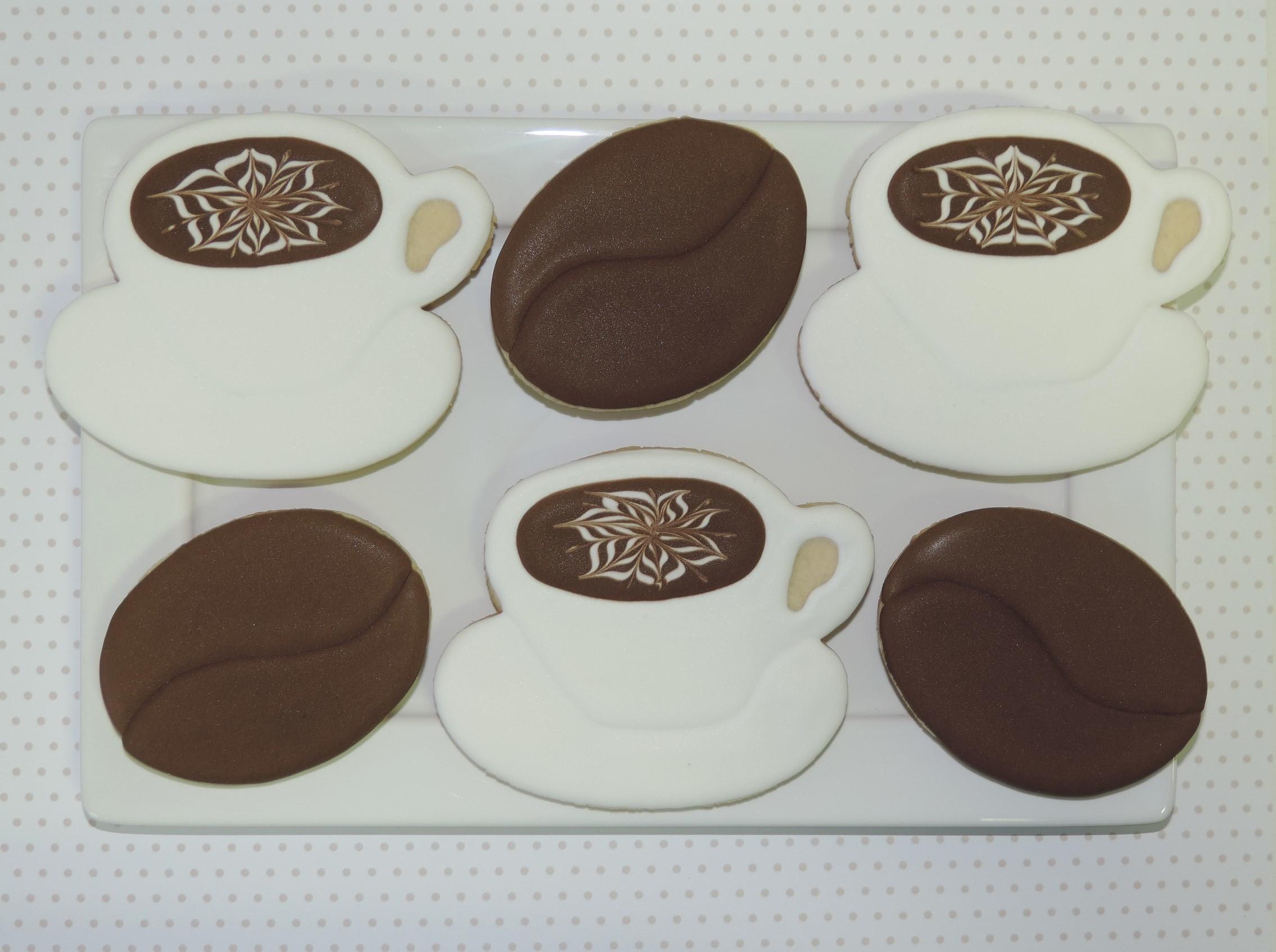 Biscoitos Decorados Café com Donuts no Elo7  52e9493c15c