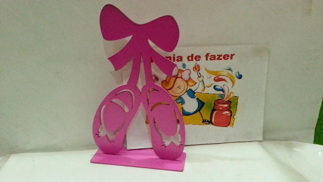 070103692e kit 10 sapatilhas ballet balé mdf pintura rosa frente e vers no Elo7 ...