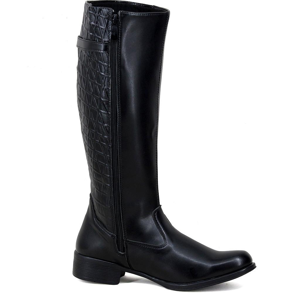 ... Bota feminina montaria cano longo super conforto preta no Elo7 Magi  Shoes (CEE941) a479b1c814aa02 ... facd12155d