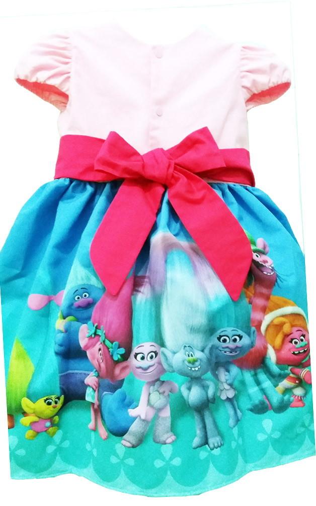 939319275 Vestido Trolls Roupa Infantil Lindo Para Festa Tam 08 Ao 14. no Elo7 ...