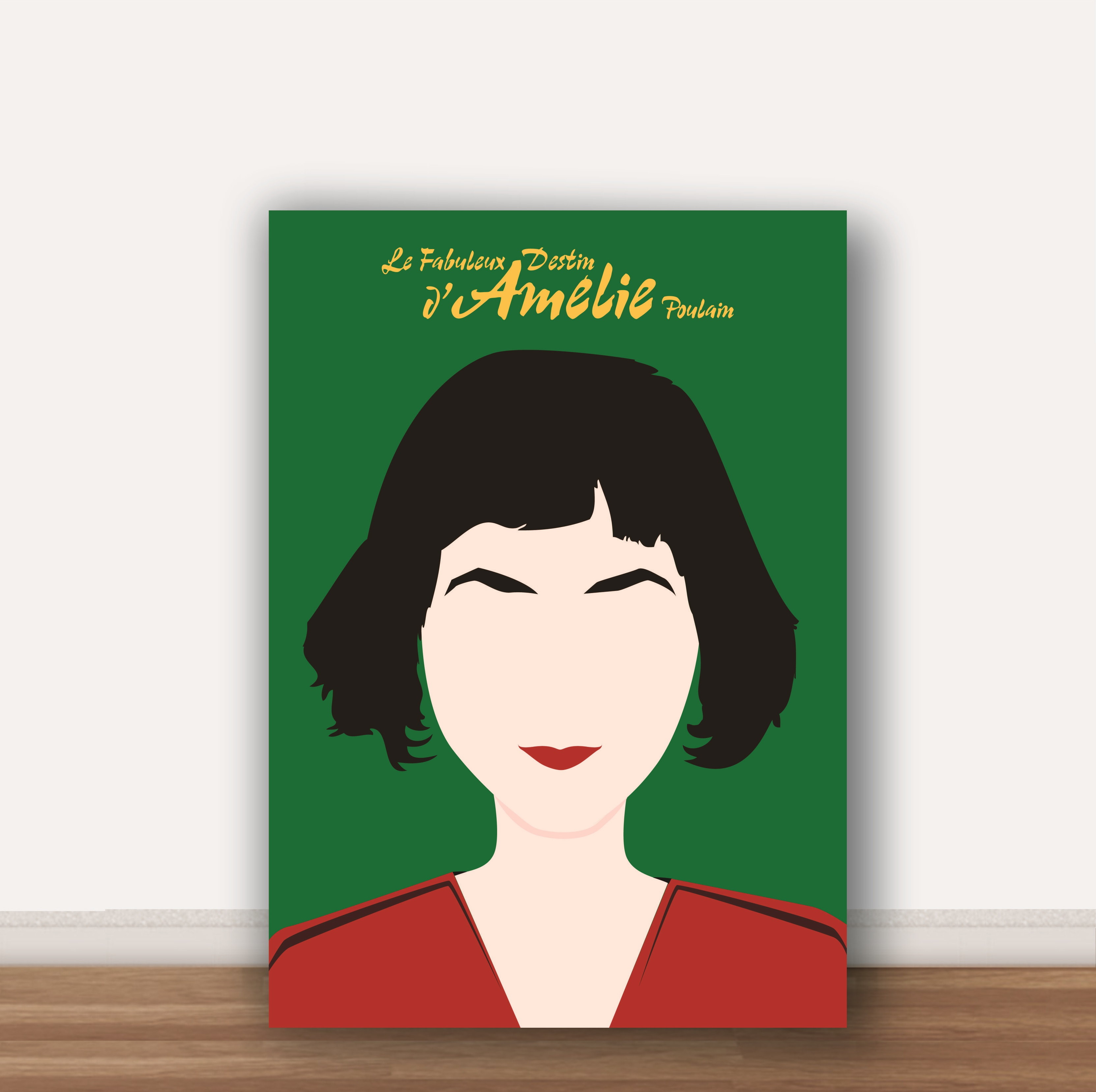 Poster Amelie Poulain A4 No Elo7 Wood Design Quadros Cf4107