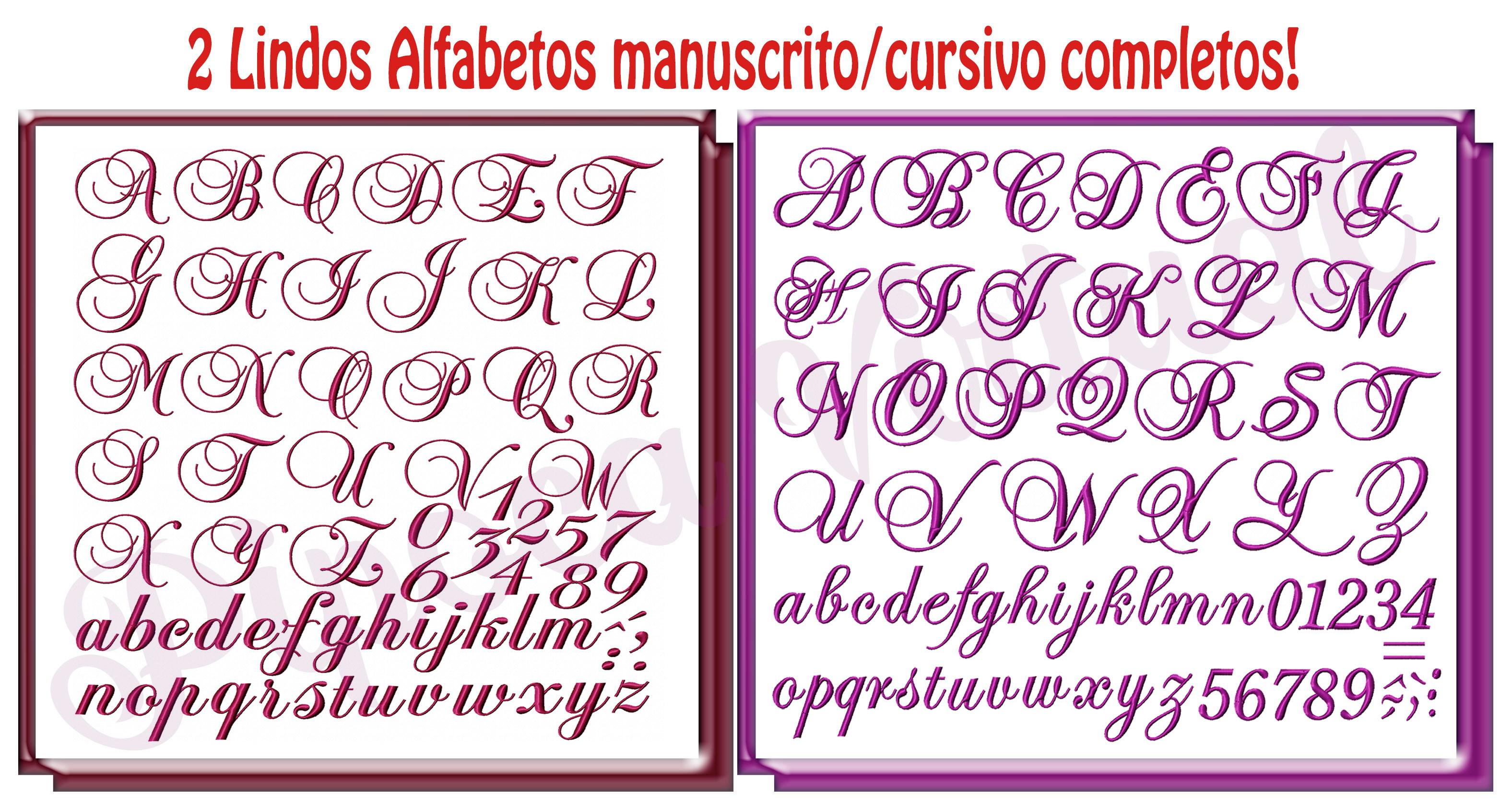 Alfabeto Completo 2 Letras Em Mdf Elo7