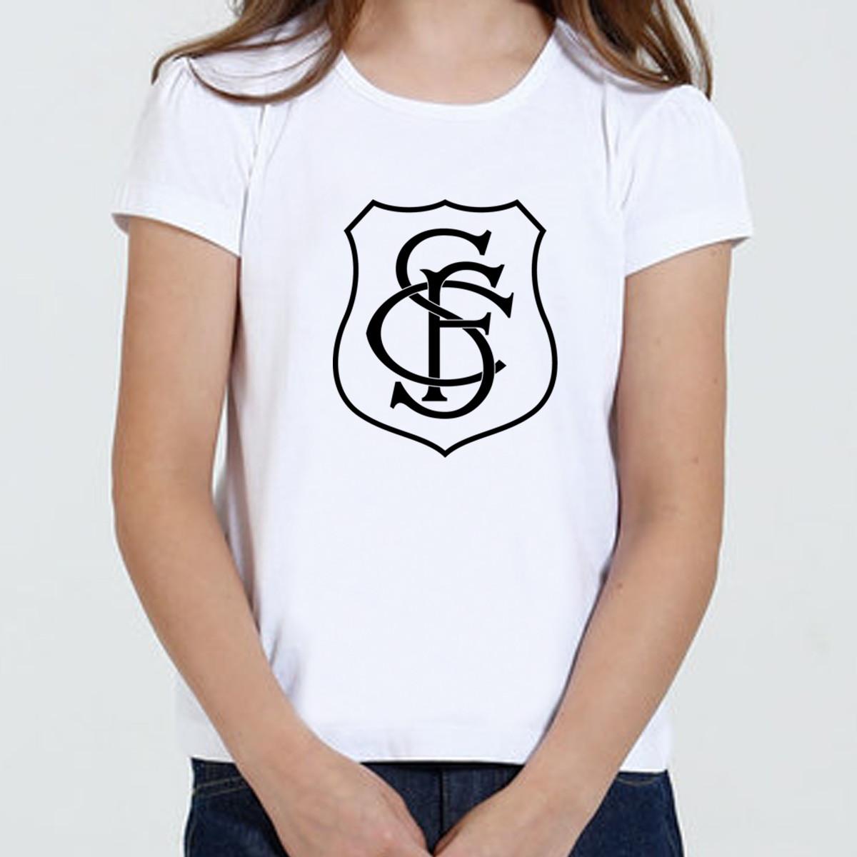 9dfe10efc3 Camisa Camiseta Babylook SFC Novidade Promoção no Elo7