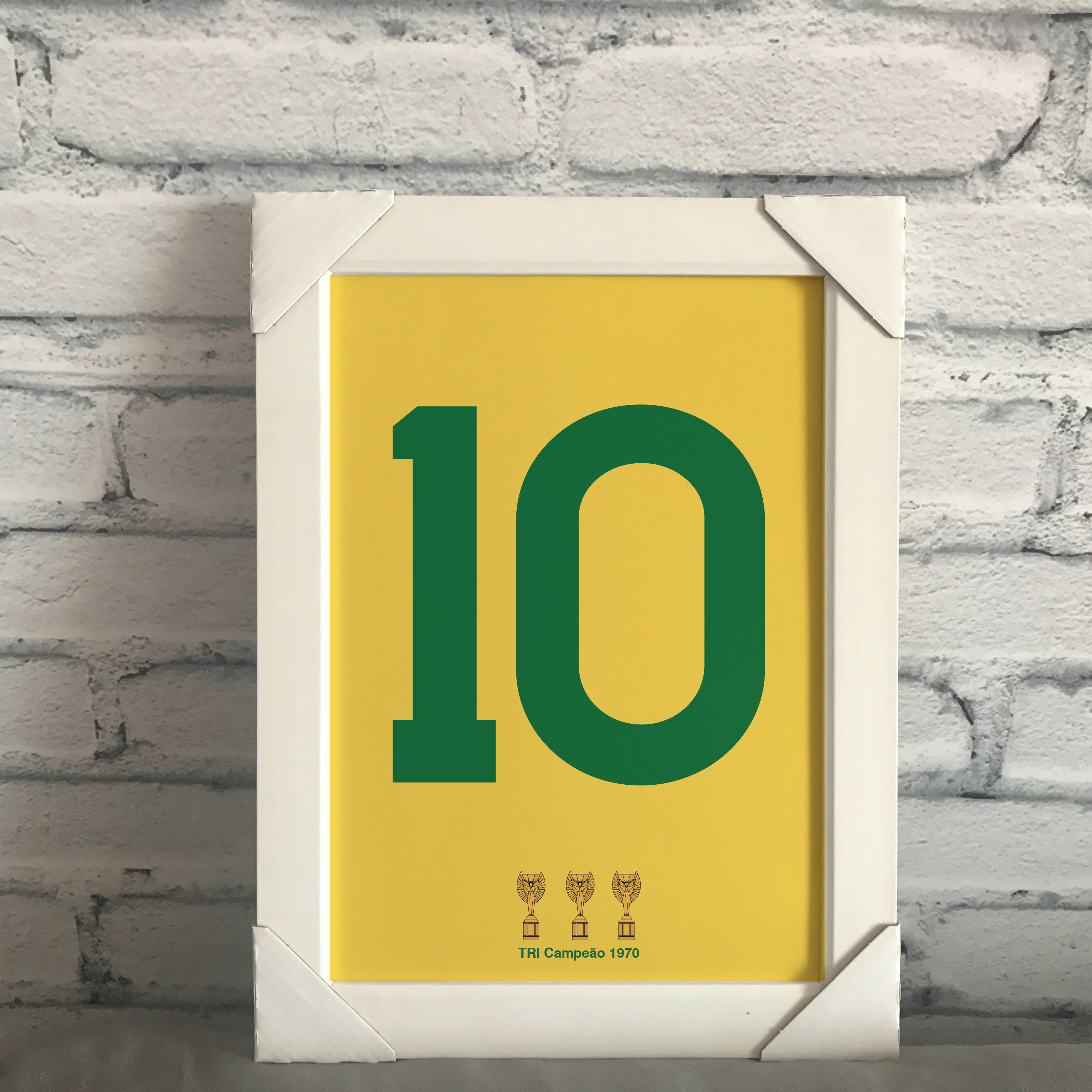 Chinelo Copa do Mundo Camisa 10 da Selecao  0007603657233
