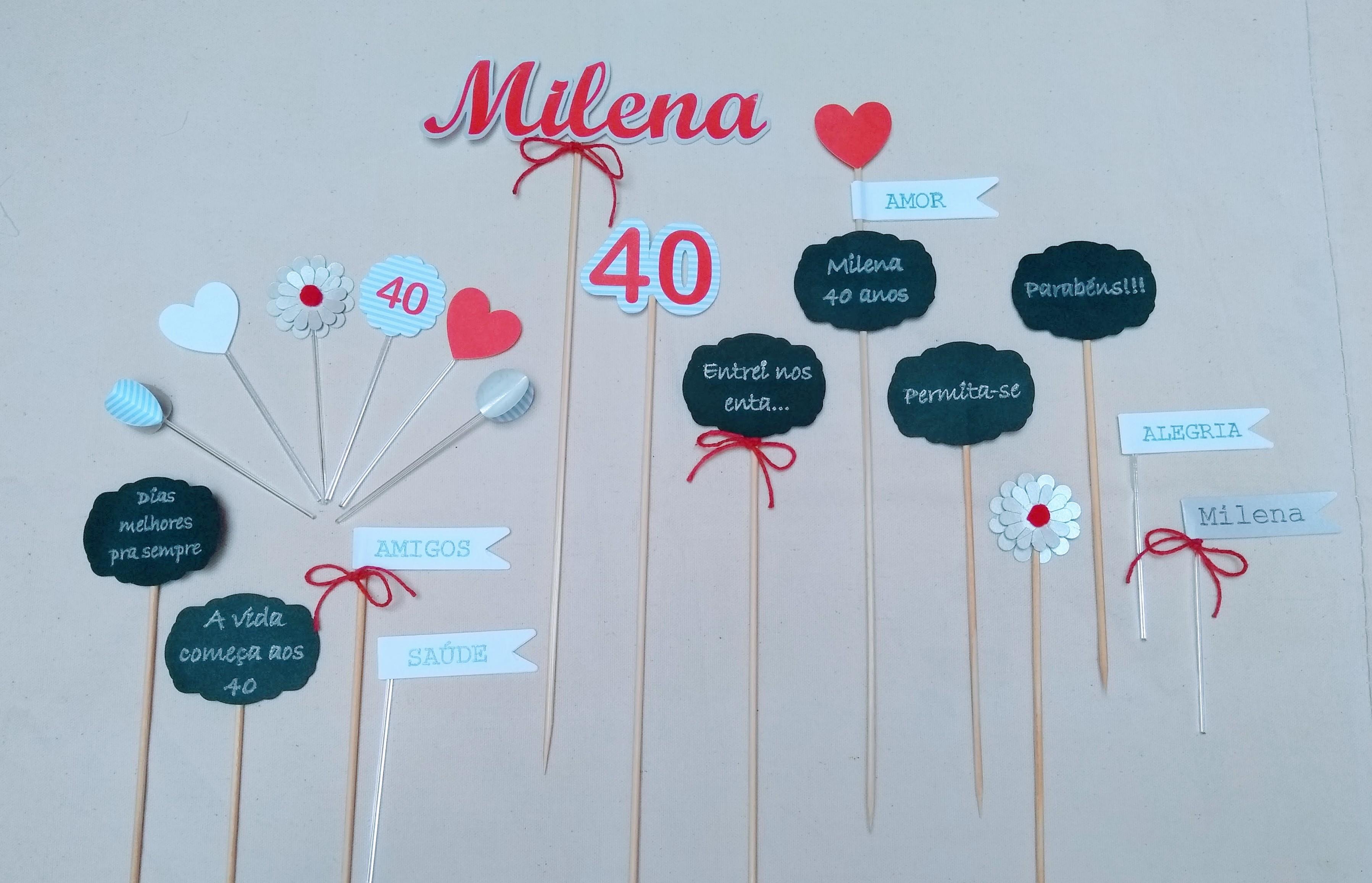 Festa 40 Anos Elo7