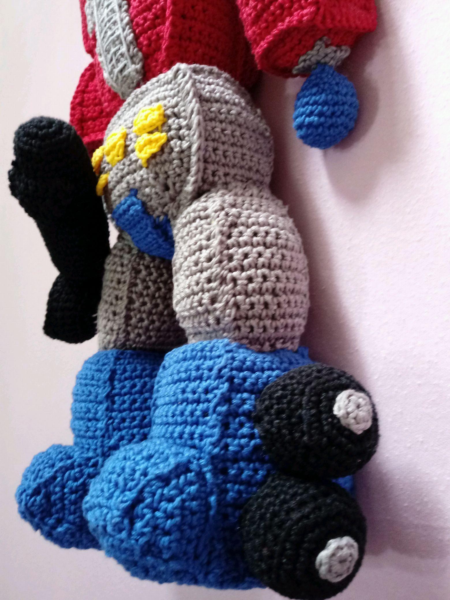 Optimus Prime Crochet Pattern Topsimages