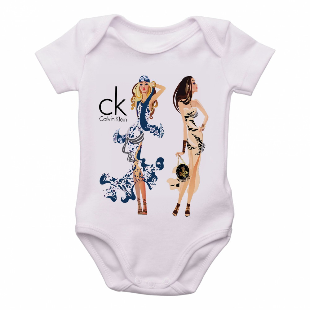Body Bebe Roupa Infantil Crianca Calvin Klein Modelos   Elo7 07ecb3f9f6