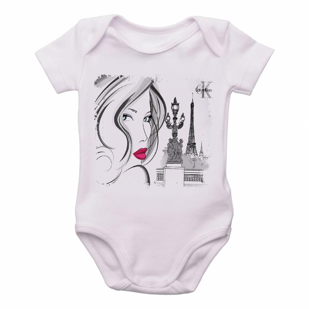 Body Bebe Roupa Infantil Crianca Nene Calvin Klein Ck   Elo7 f0c3a46cd0