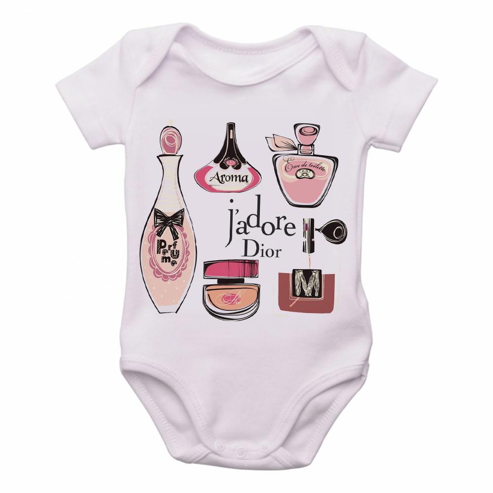 168ee316099b Body Bebe Roupa Infantil Crianca Nene Versace Perfume   Elo7