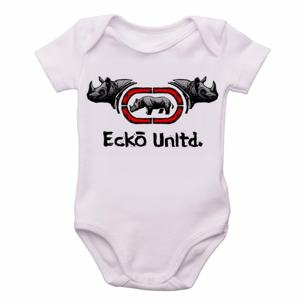 fd03cbf52ca Bodie Body Crianca Infantil Roupa Bebe Ecko Unltd Rinoceront