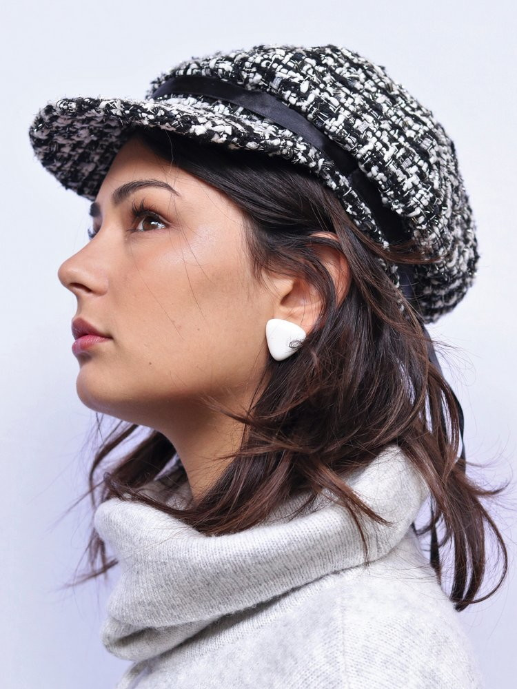 Boina Quepe Tweed Candice P B bf9381a6386