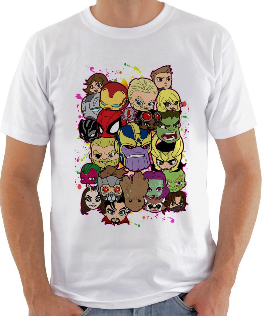 21a9e96774 Camiseta Camisa Vingadores Infinity War Marvel Avengers