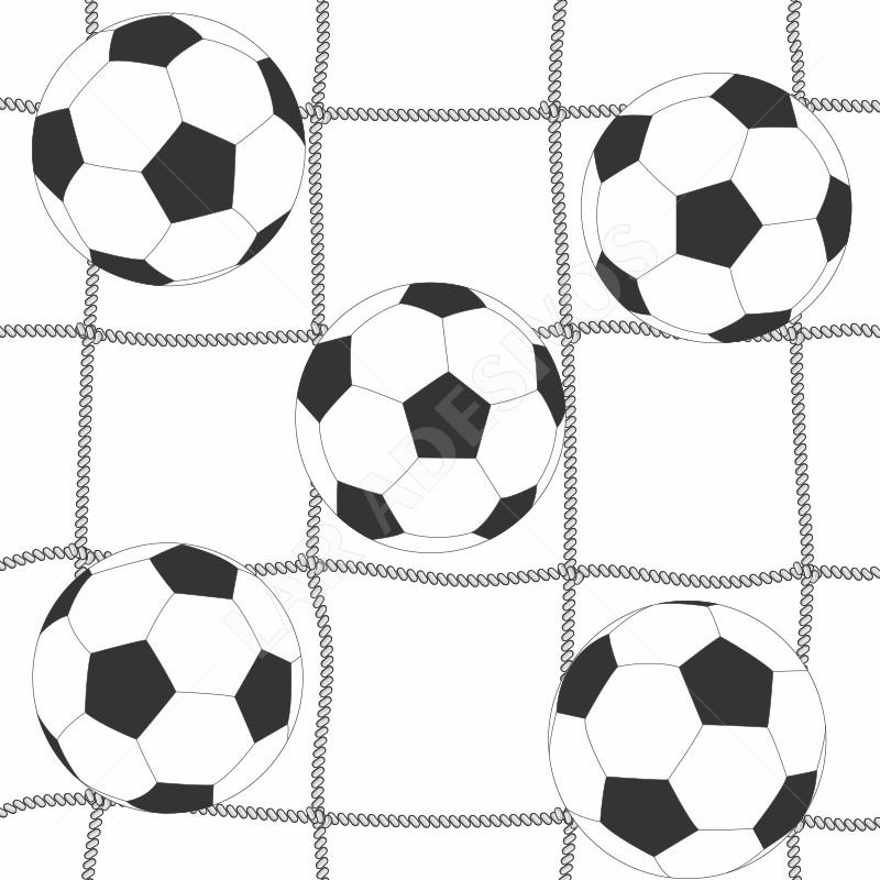 7ca6842c0d Papel de Parede Infantil Futebol Menino Bolas Ref 4205
