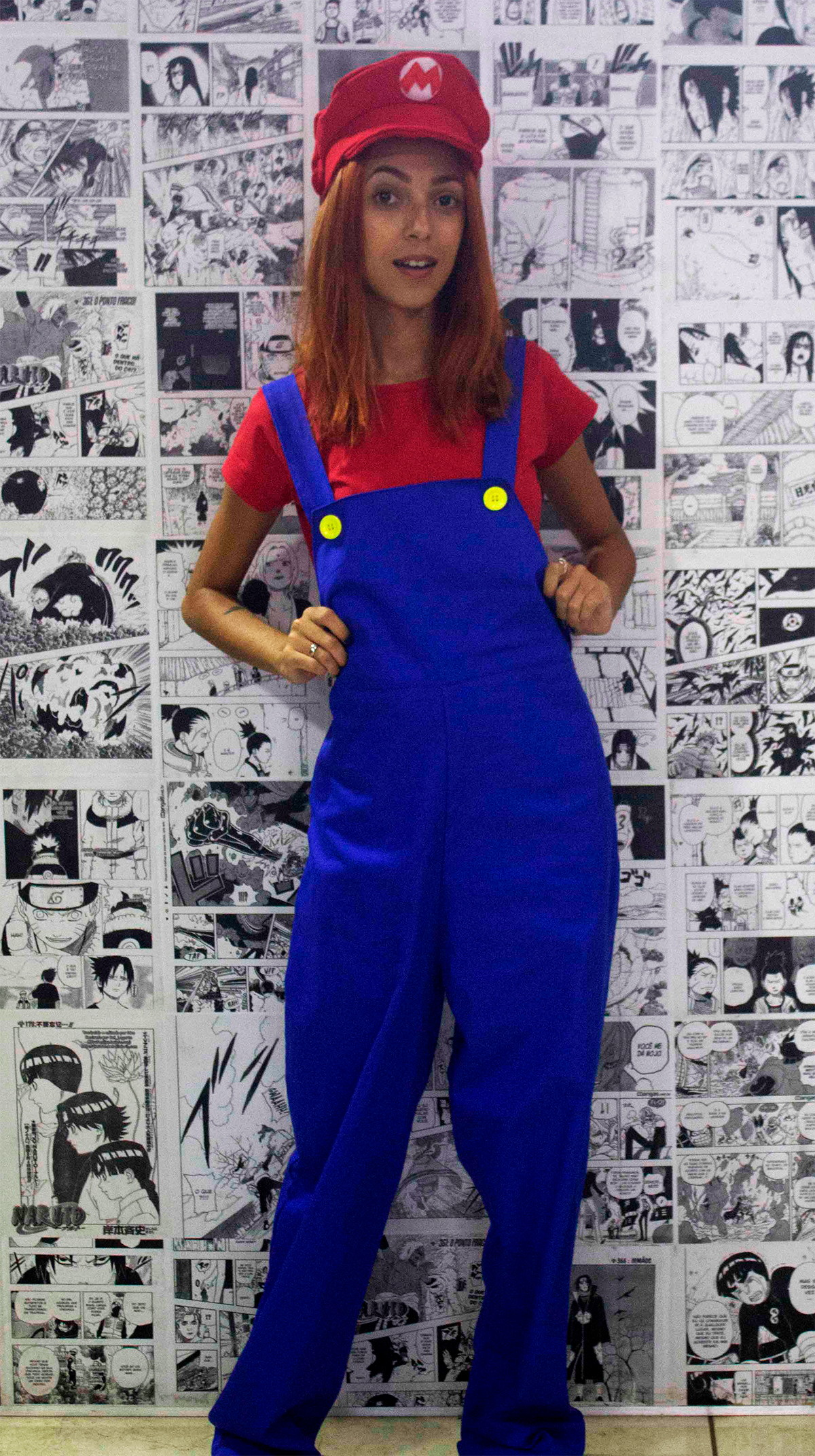 0e0961aa57c15 Cosplay Mario Completo