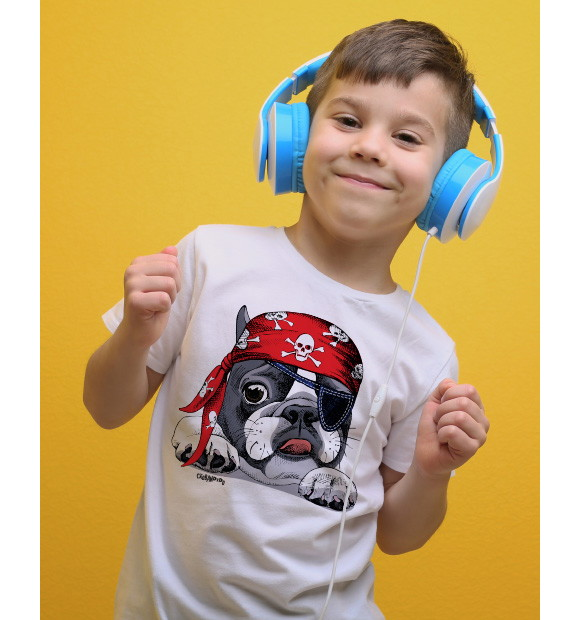 Camiseta Infantil Francesa  ffaa0f6d4295f