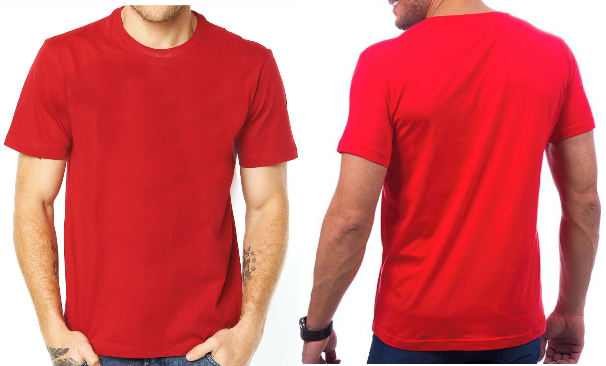 8dea033845 Kit c 10 Camisetas Atacado Lisa 100% Algodão - Branca no Elo7 ...