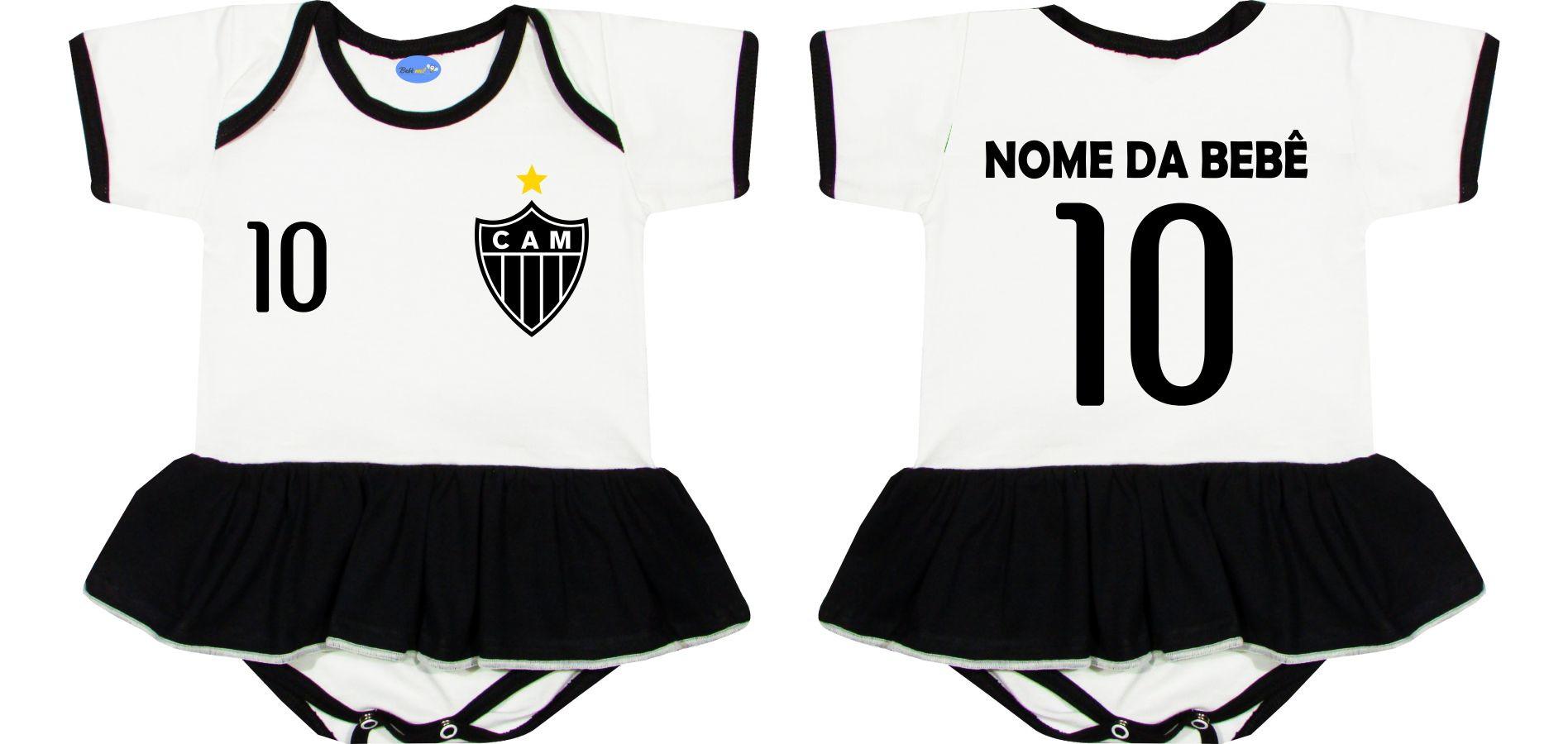 Body Saia Menina Time Futebol Cruzeiro  1721197a6305a