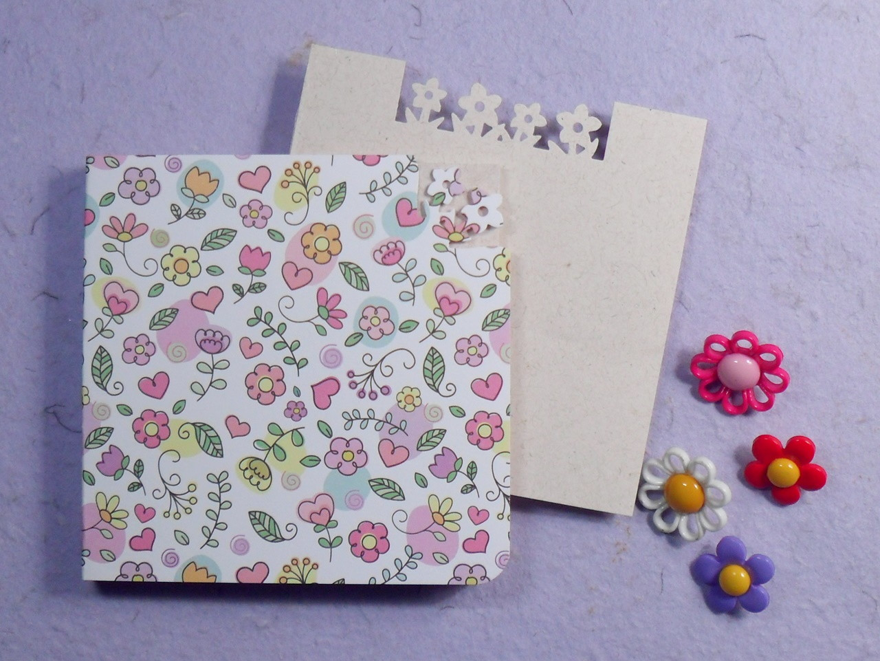 bloquinho florzinhas capa desenho no elo7 bloquinhos e cia b8d5da