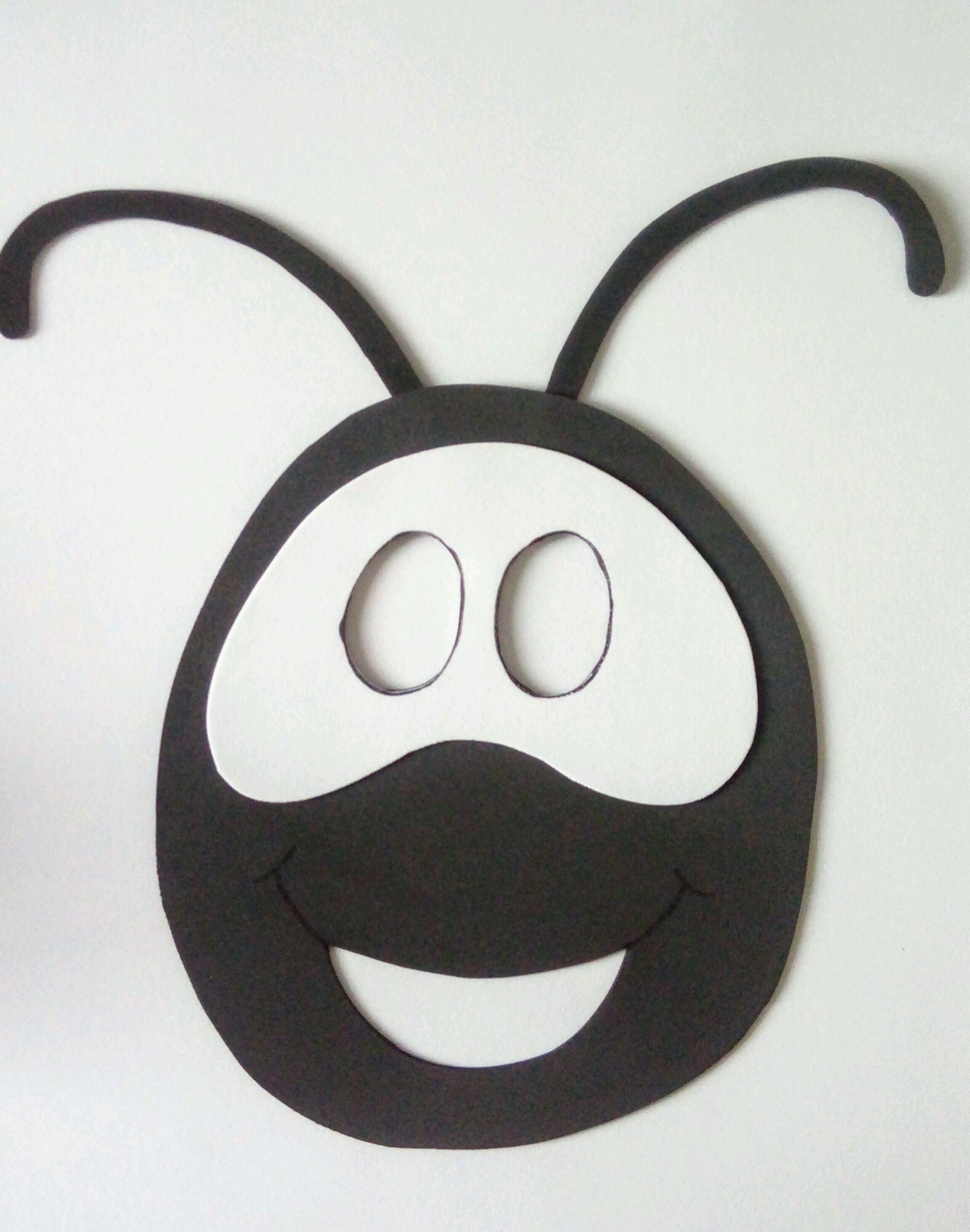 Formiga Smilinguido Mascara No Elo7 Joaninha Enfeites Aa02fa