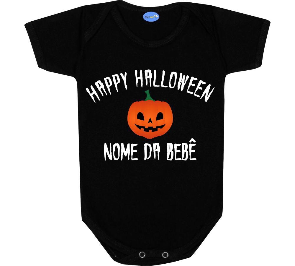 e994f112f1 Roupa de Bebe Primeiro Halloween Nome
