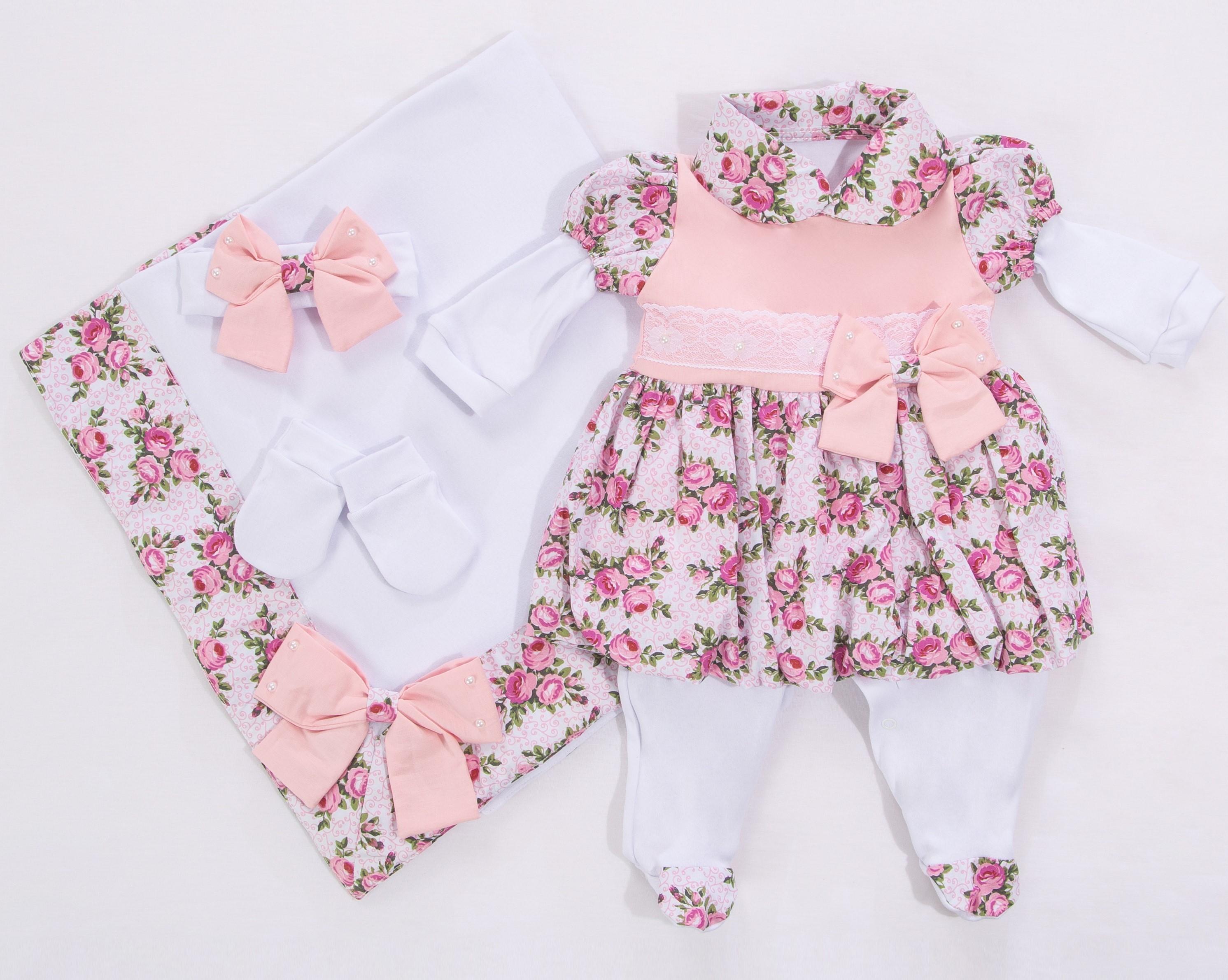 Saida de Maternidade Menina  2cca419793a
